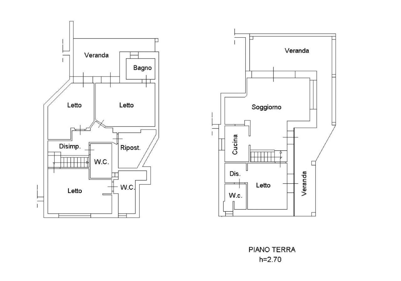 Planimetria appartamentoVia Punta Lada 07026