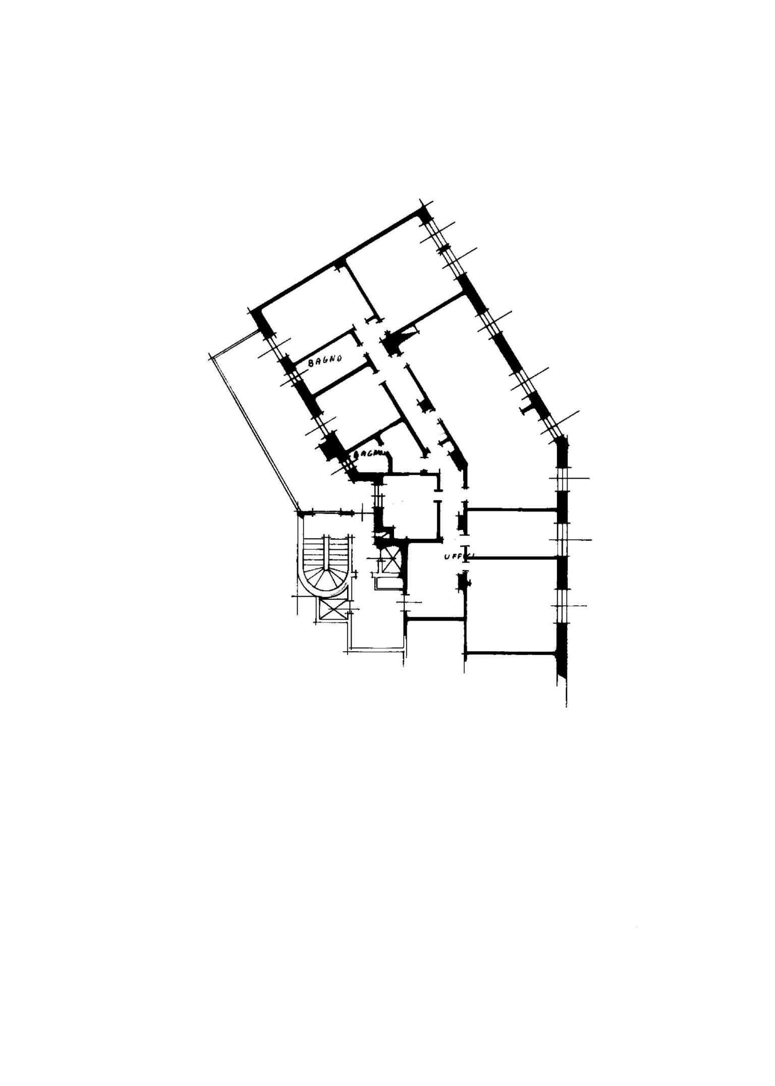 Planimetria appartamentoVia Soresina 20144
