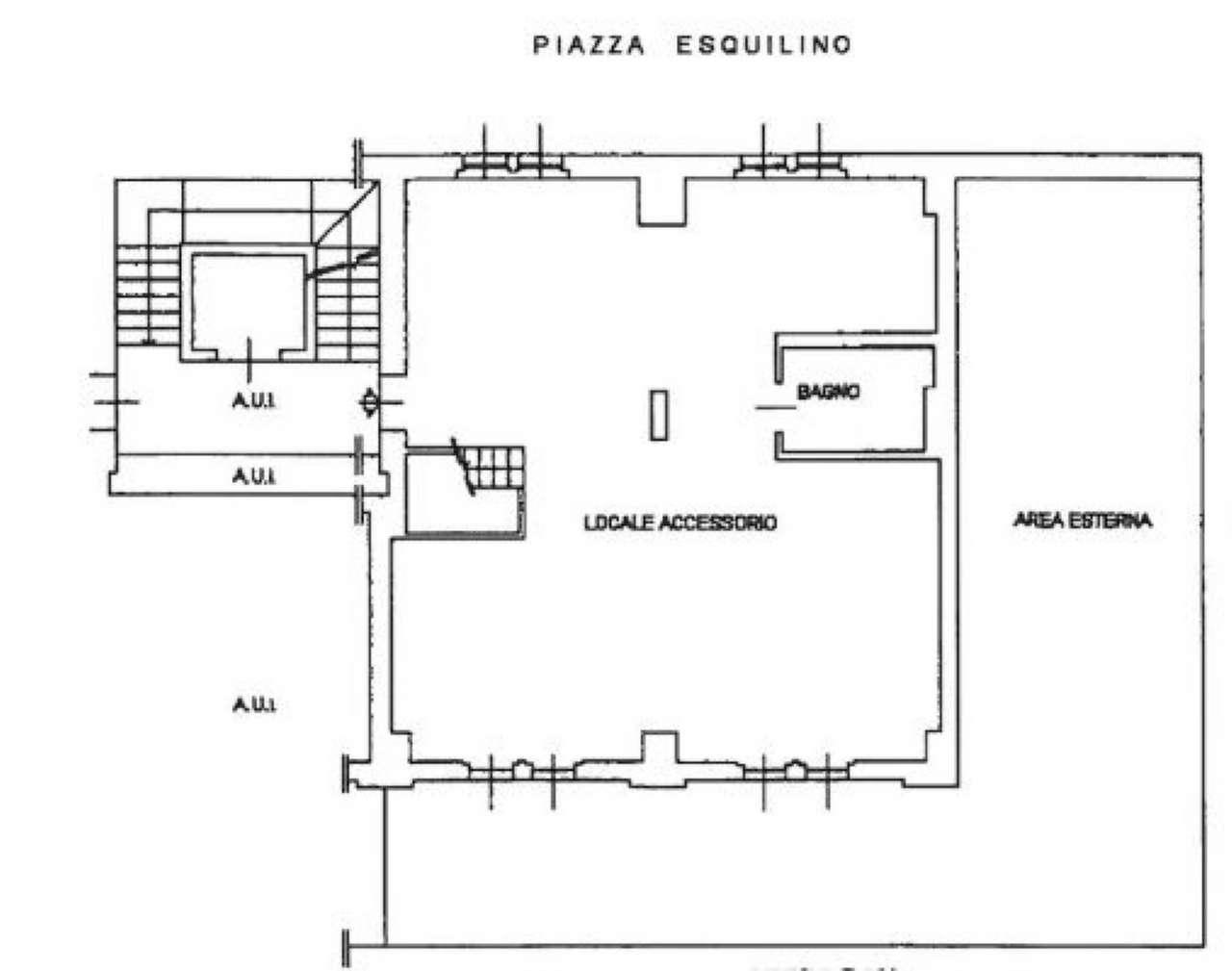 Plan du solPiazza Esqulino 20148