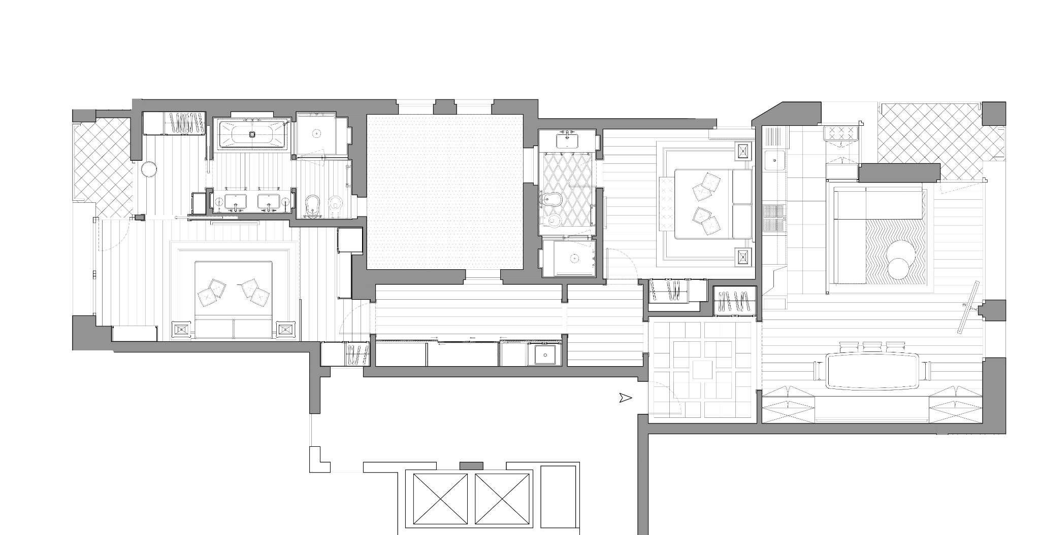 Planimetria appartamentoVia San Marco 20121