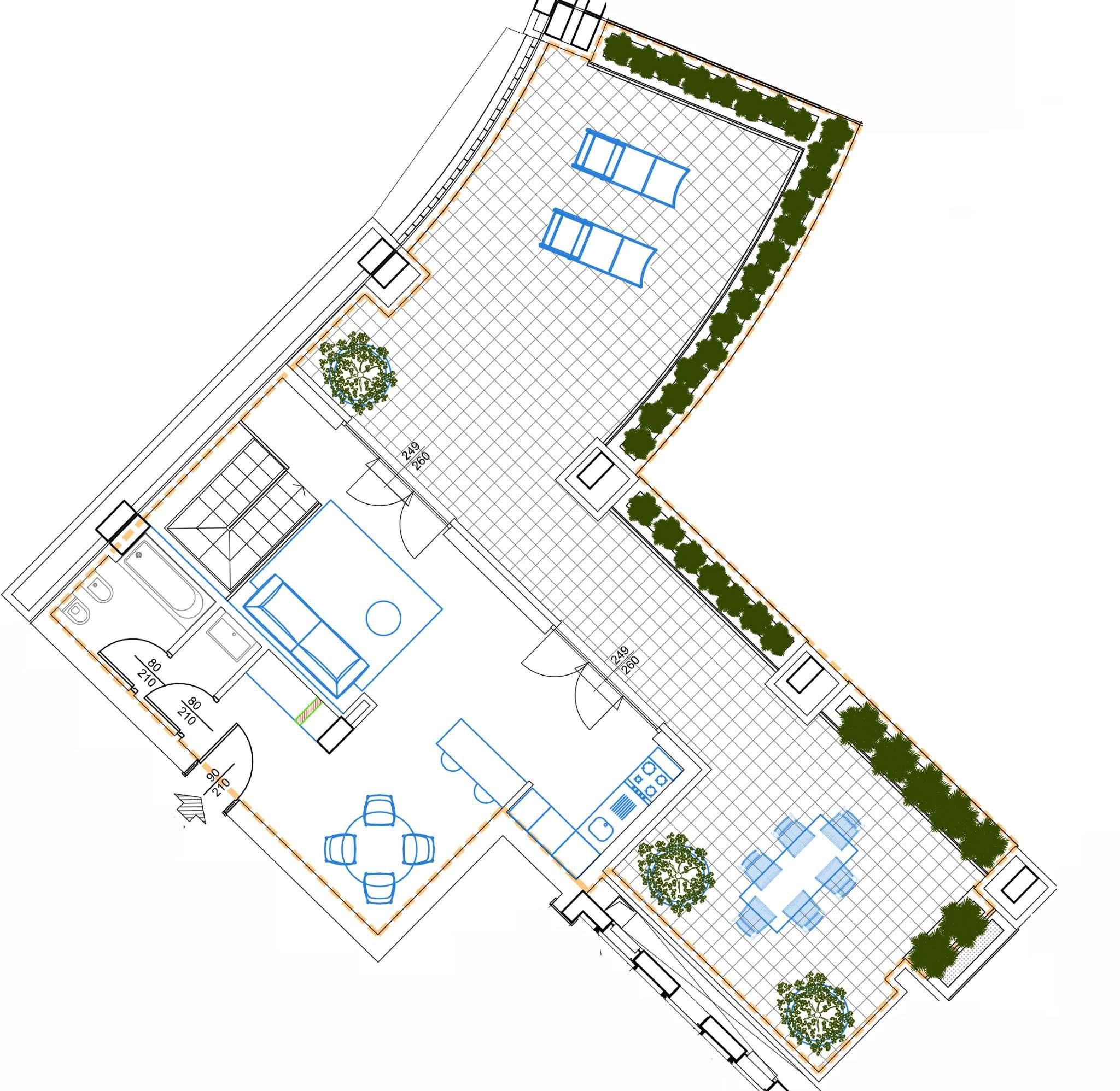 Planimetria appartamentoPiazza Esquilino 20148