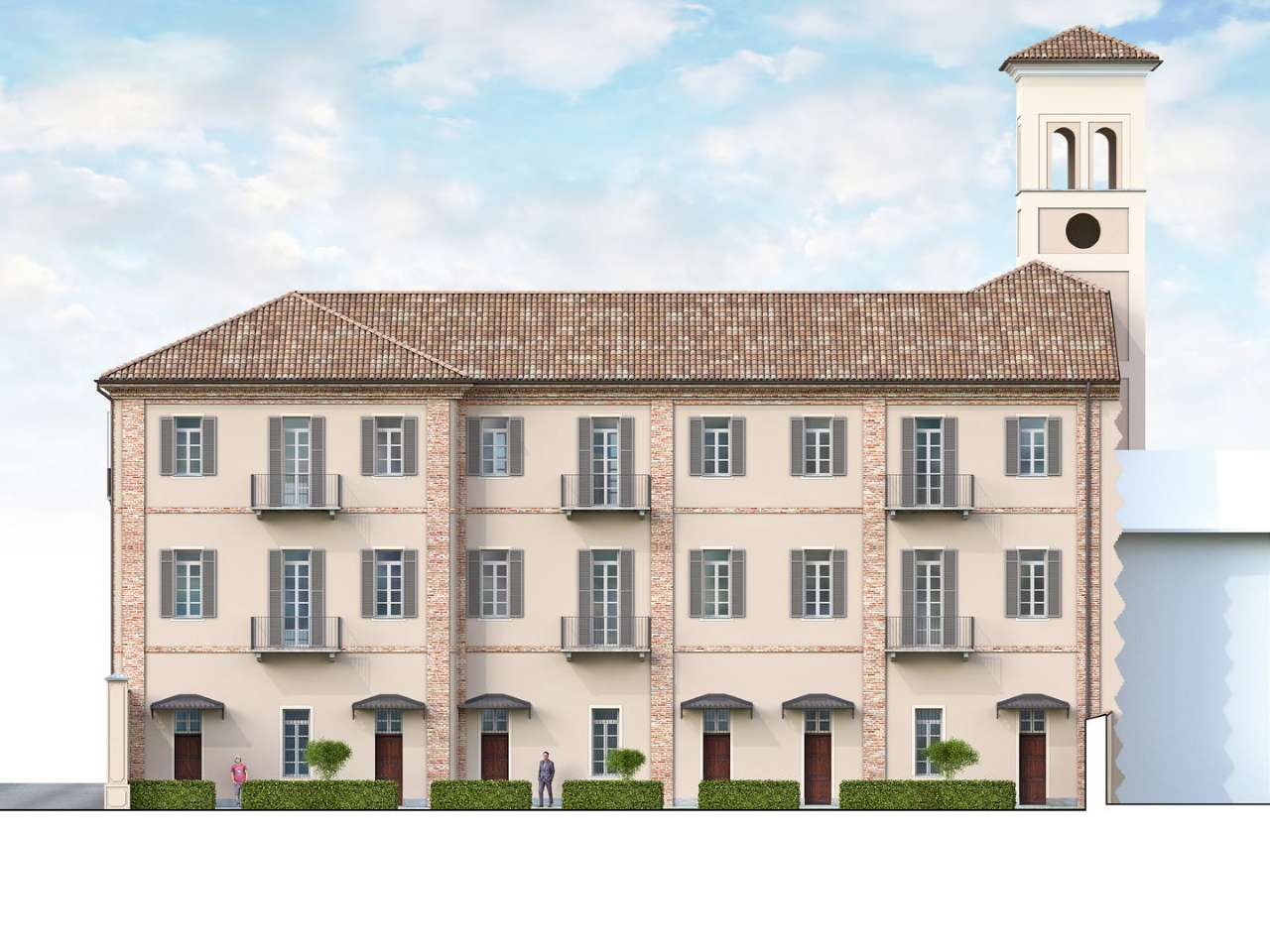 Appartamento in vendita a Cherasco, 2 locali, prezzo € 1.000 | CambioCasa.it