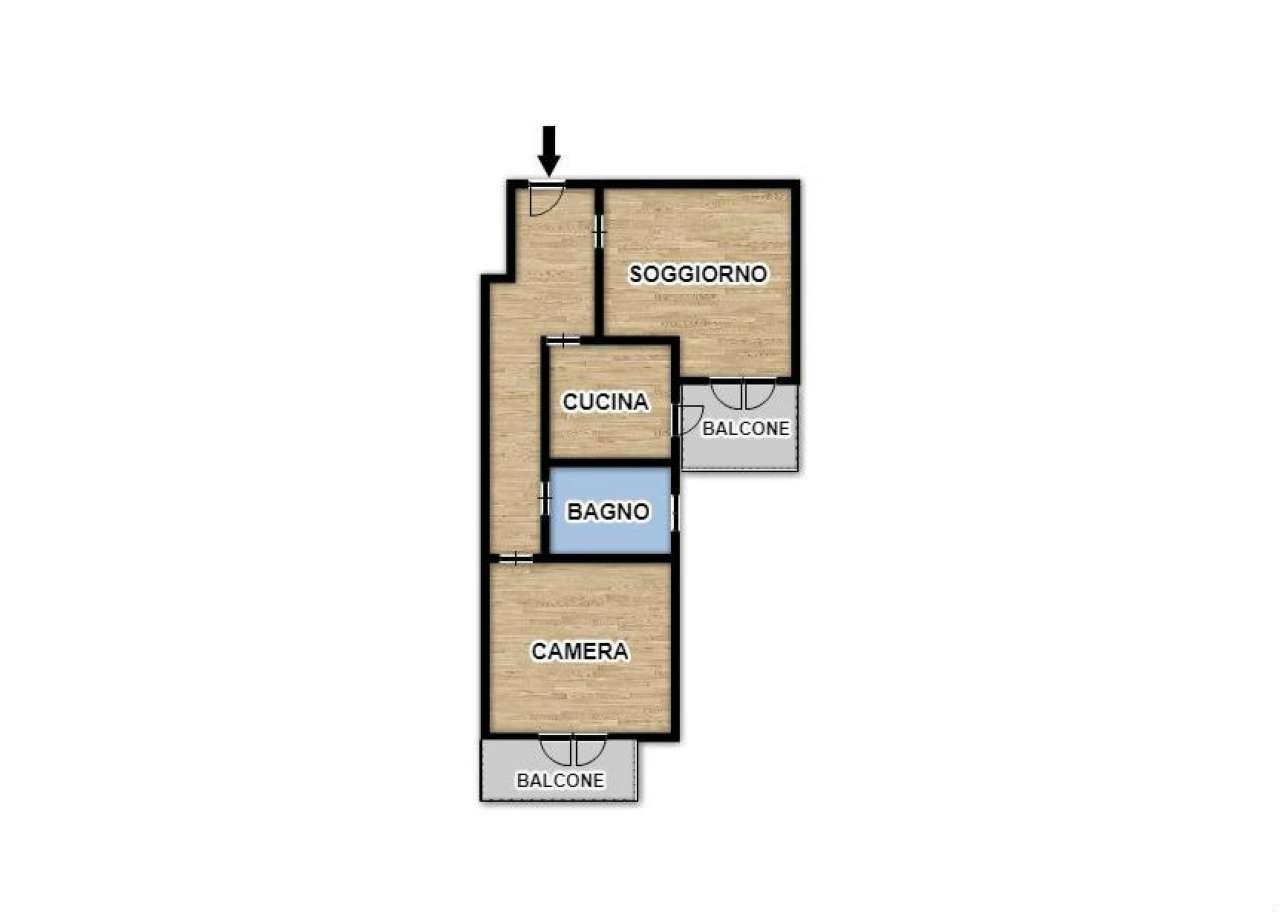 Appartamento in ottime condizioni in vendita Rif. 7850091