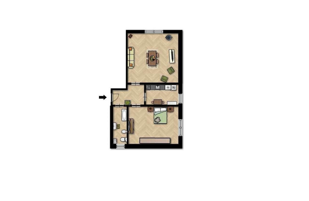 Appartamento da ristrutturare in vendita Rif. 7300522