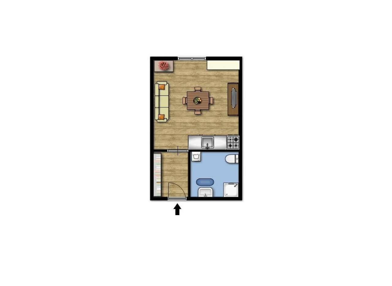 Appartamento in buone condizioni arredato in vendita Rif. 7125647