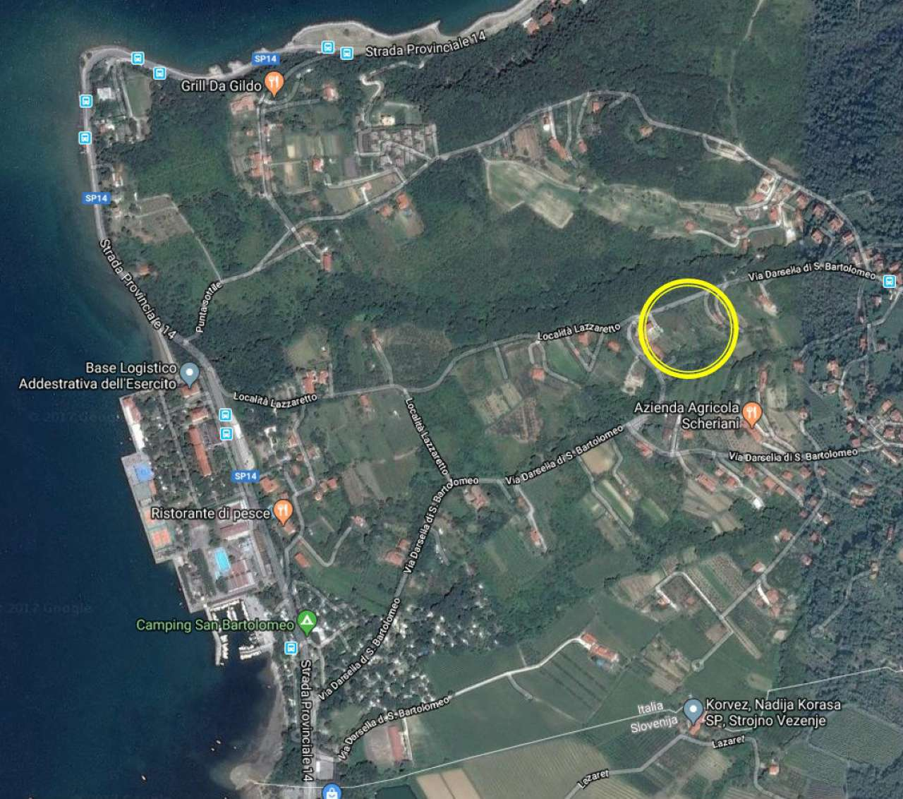 Terreno Edificabile Residenziale in vendita a Muggia, 9999 locali, Trattative riservate | CambioCasa.it