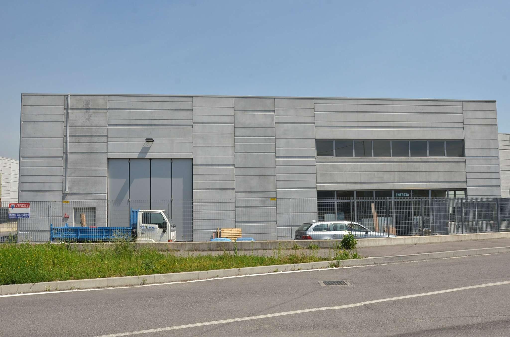 Capannone in vendita a Terno d'Isola, 9999 locali, prezzo € 640.000 | CambioCasa.it