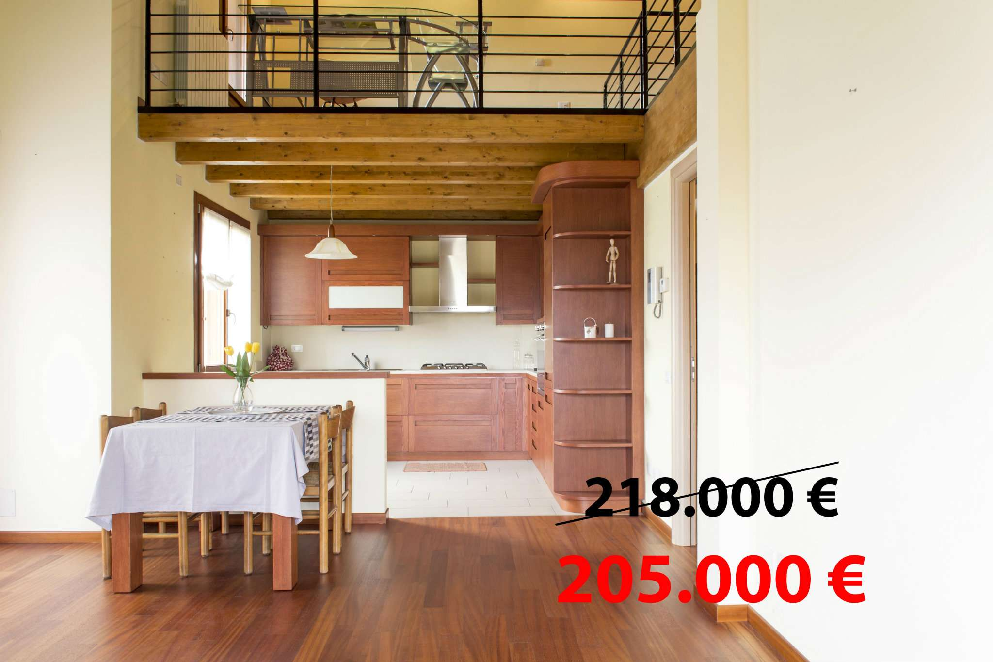 Appartamento in vendita a Mapello, 3 locali, prezzo € 199.000   CambioCasa.it