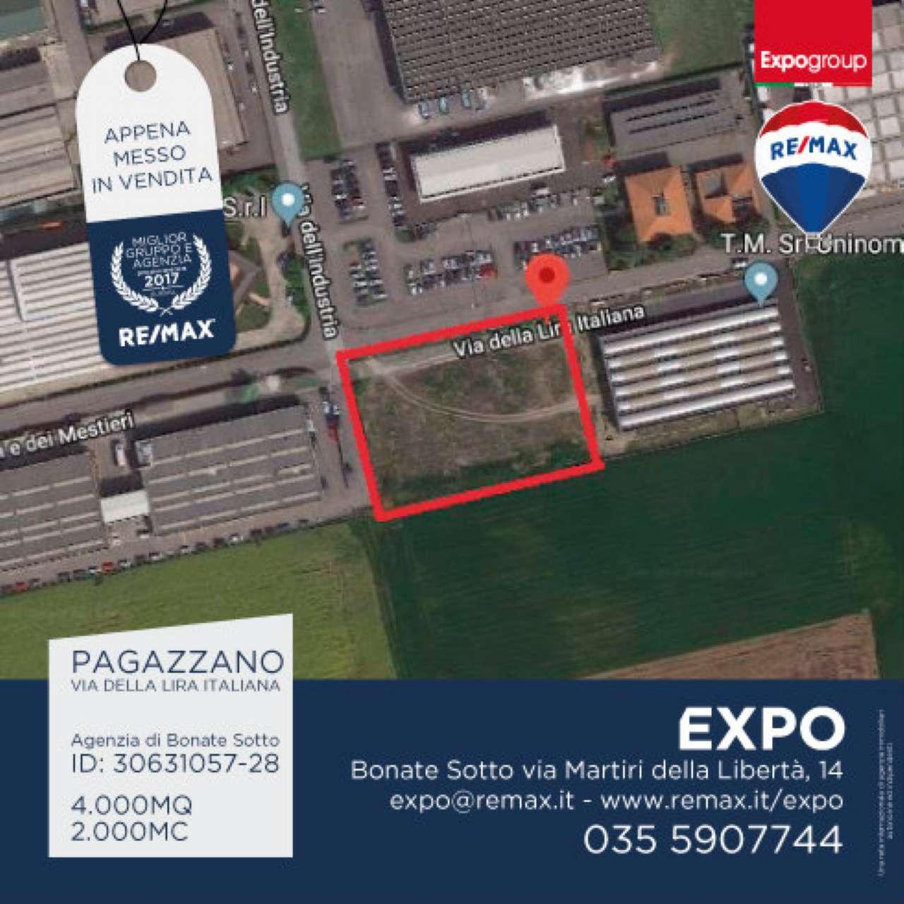 Terreno Edificabile Comm.le/Ind.le in vendita a Pagazzano, 9999 locali, prezzo € 395.000   CambioCasa.it