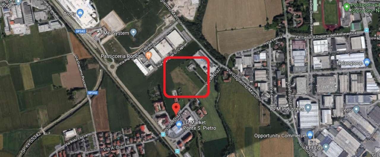 Terreno Edificabile Comm.le/Ind.le in vendita a Ponte San Pietro, 1 locali, prezzo € 595.000   PortaleAgenzieImmobiliari.it