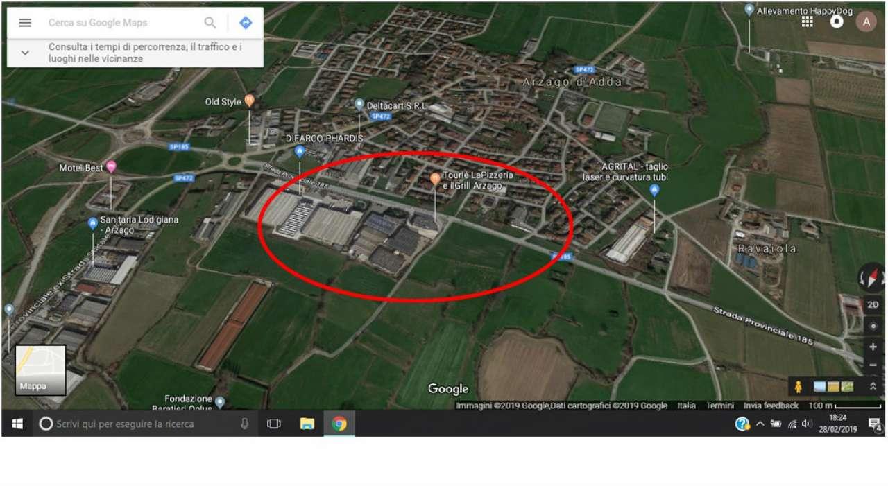 Terreno Edificabile Residenziale in vendita a Arzago d'Adda, 3 locali, prezzo € 695.000 | CambioCasa.it