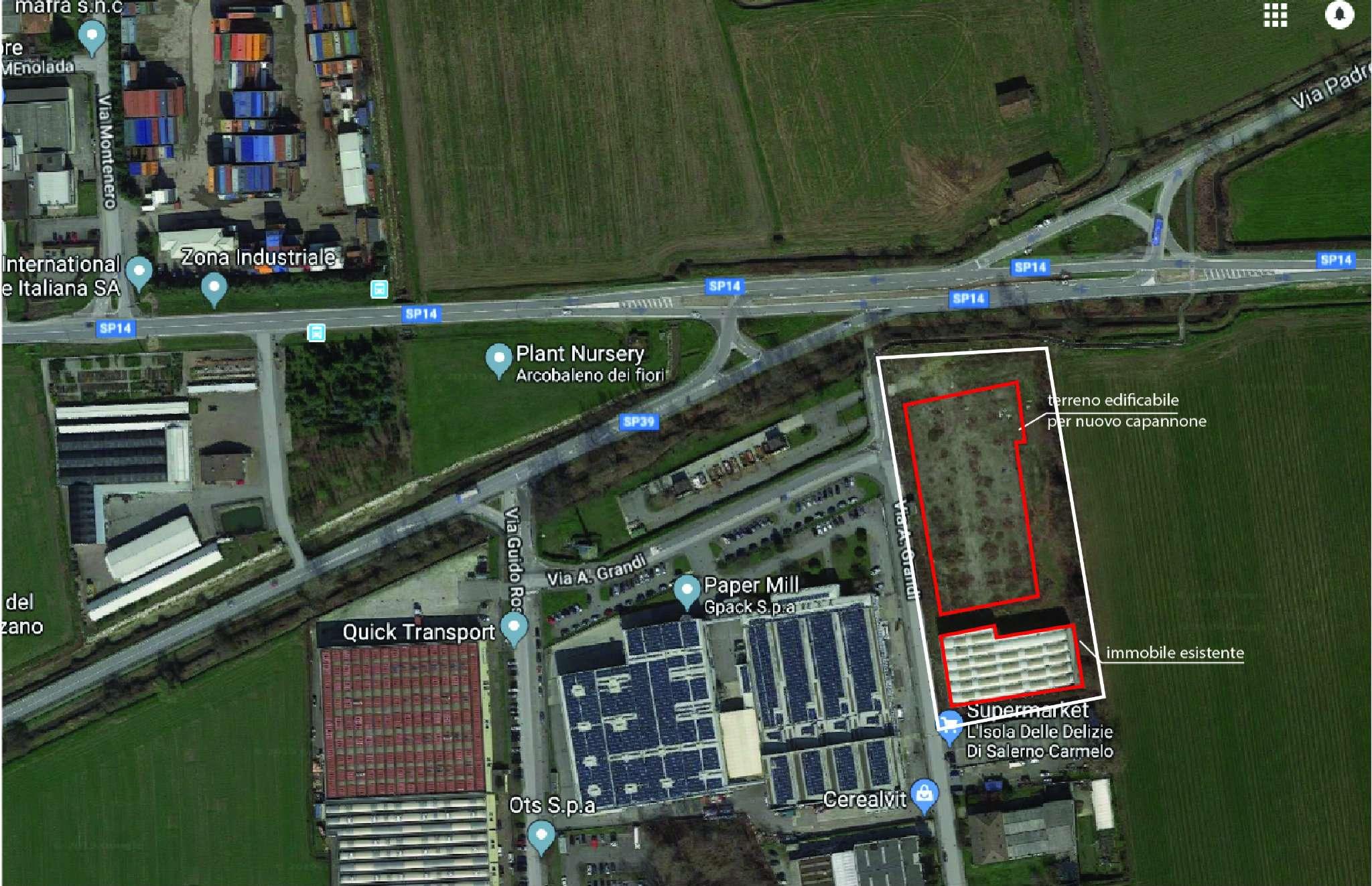 Terreno Edificabile Comm.le/Ind.le in vendita a Paullo, 1 locali, prezzo € 475.000 | PortaleAgenzieImmobiliari.it