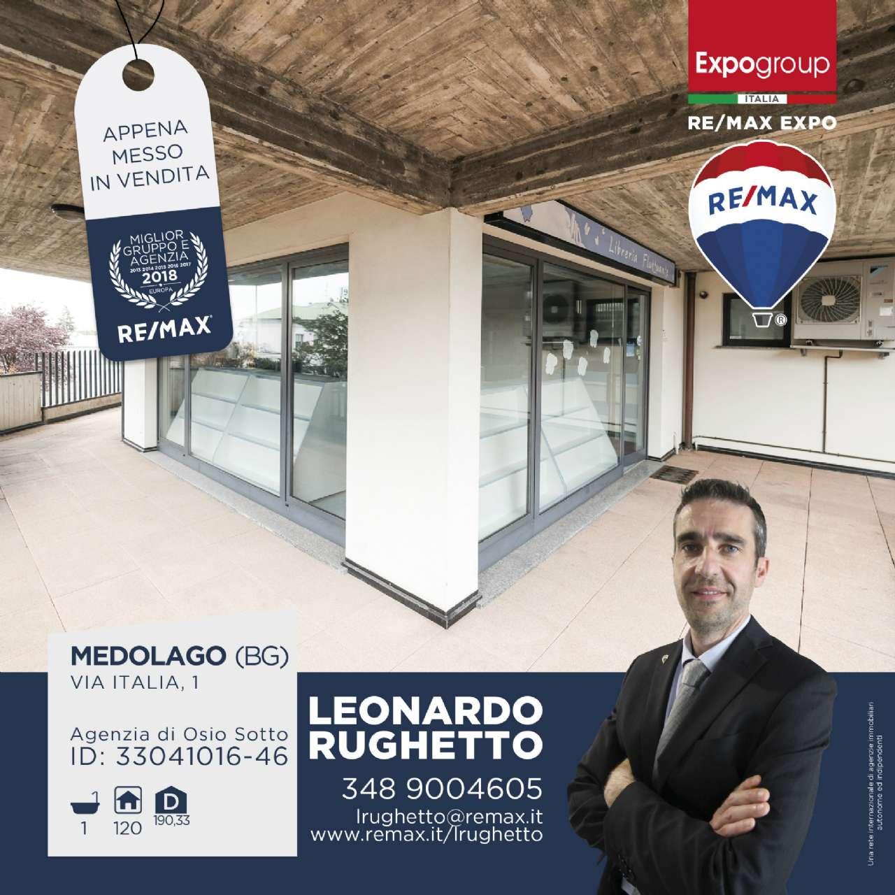 Negozio / Locale in affitto a Medolago, 1 locali, prezzo € 800 | CambioCasa.it