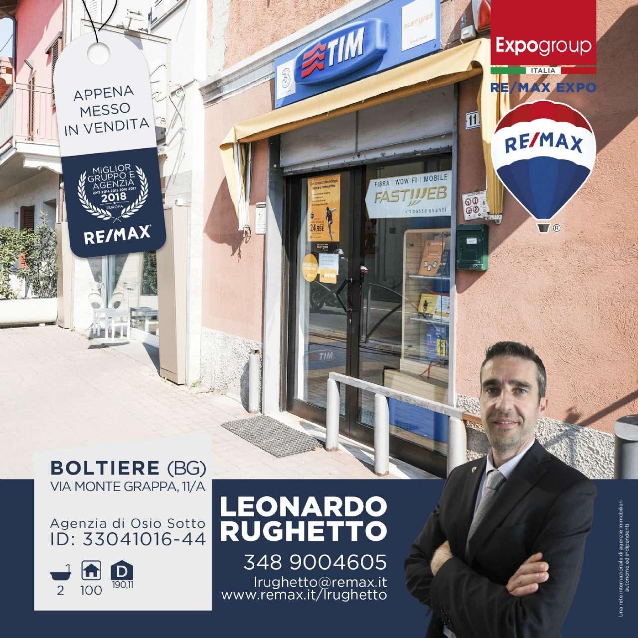 Negozio / Locale in vendita a Boltiere, 3 locali, prezzo € 65.000 | CambioCasa.it