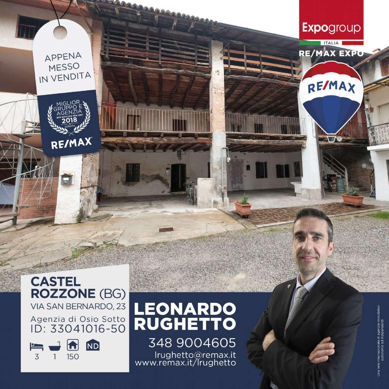 Rustico / Casale in Vendita a Castel Rozzone