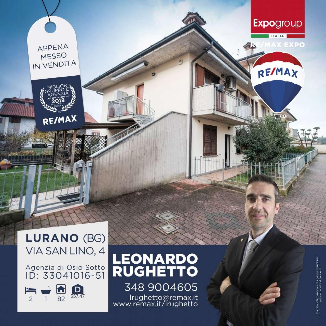 Appartamento in vendita a Lurano, 3 locali, prezzo € 90.000 | CambioCasa.it