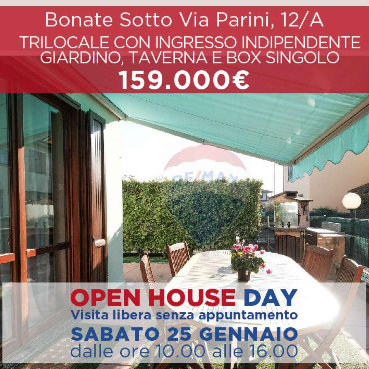 Appartamento in vendita a Bonate Sotto, 3 locali, prezzo € 159.000   PortaleAgenzieImmobiliari.it