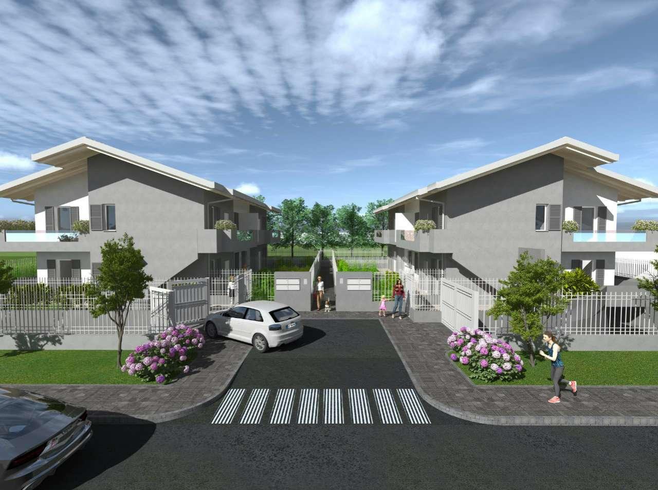 Appartamento in vendita a Bonate Sopra, 4 locali, prezzo € 245.000 | PortaleAgenzieImmobiliari.it