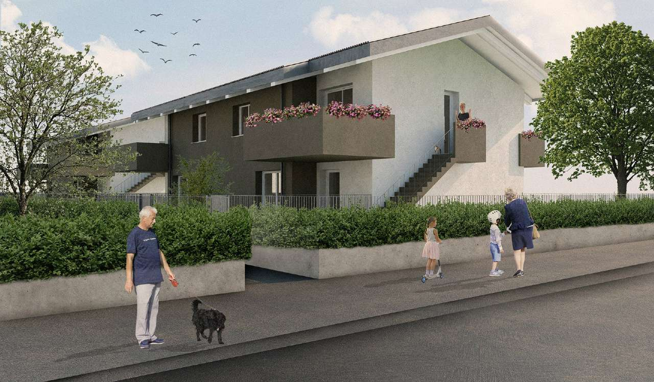 Appartamento in vendita a Brembate, 3 locali, prezzo € 215.000 | PortaleAgenzieImmobiliari.it