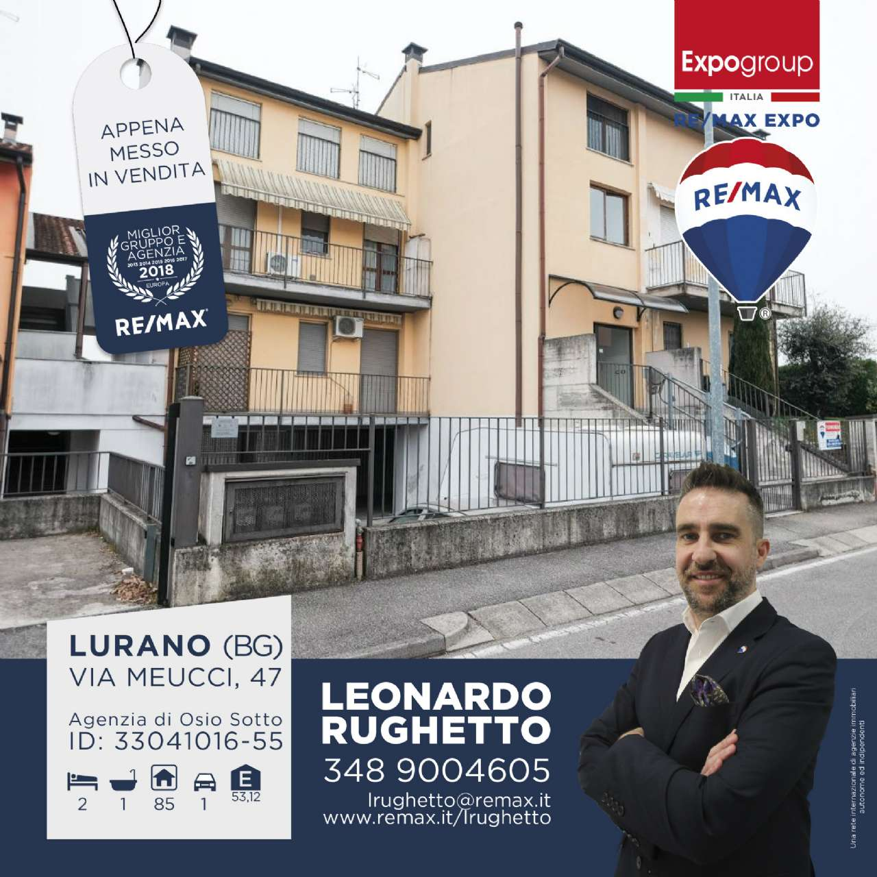 Appartamento in vendita a Lurano, 3 locali, prezzo € 95.000 | CambioCasa.it