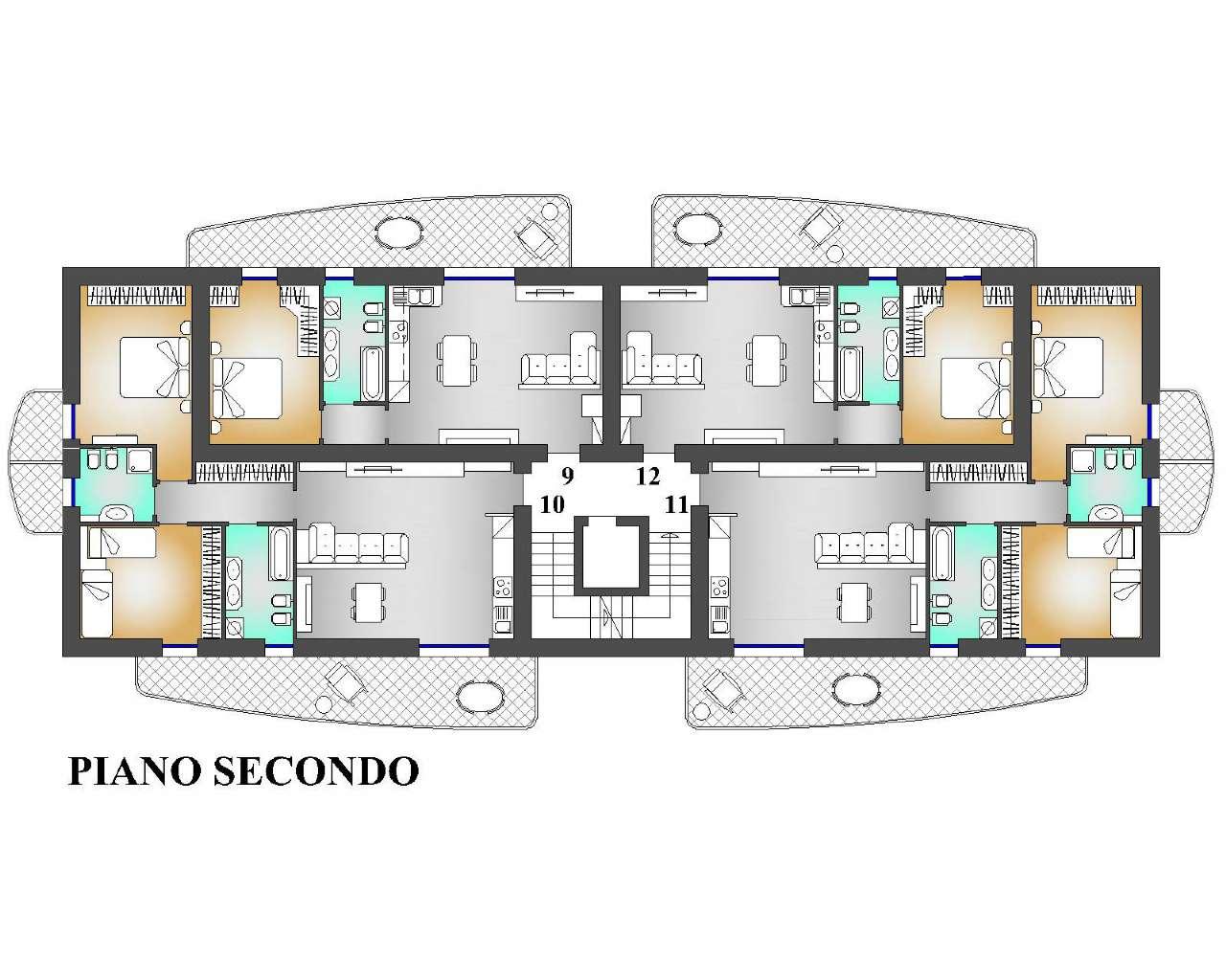 Appartamento in vendita a Villa d'Almè, 3 locali, prezzo € 213.000 | CambioCasa.it