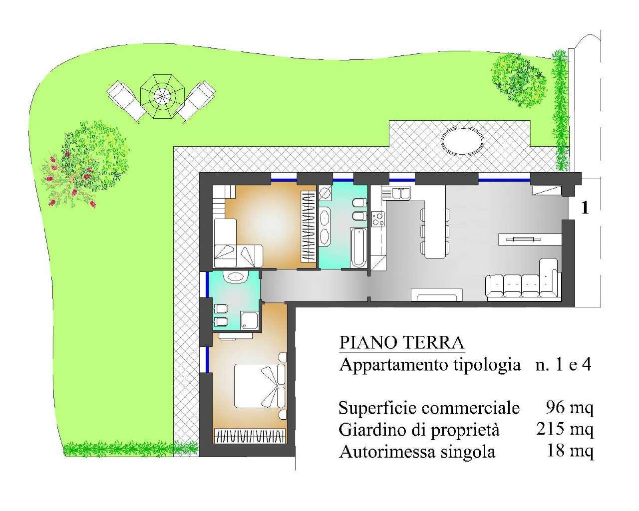 Appartamento in vendita a Villa d'Almè, 3 locali, prezzo € 231.000 | CambioCasa.it