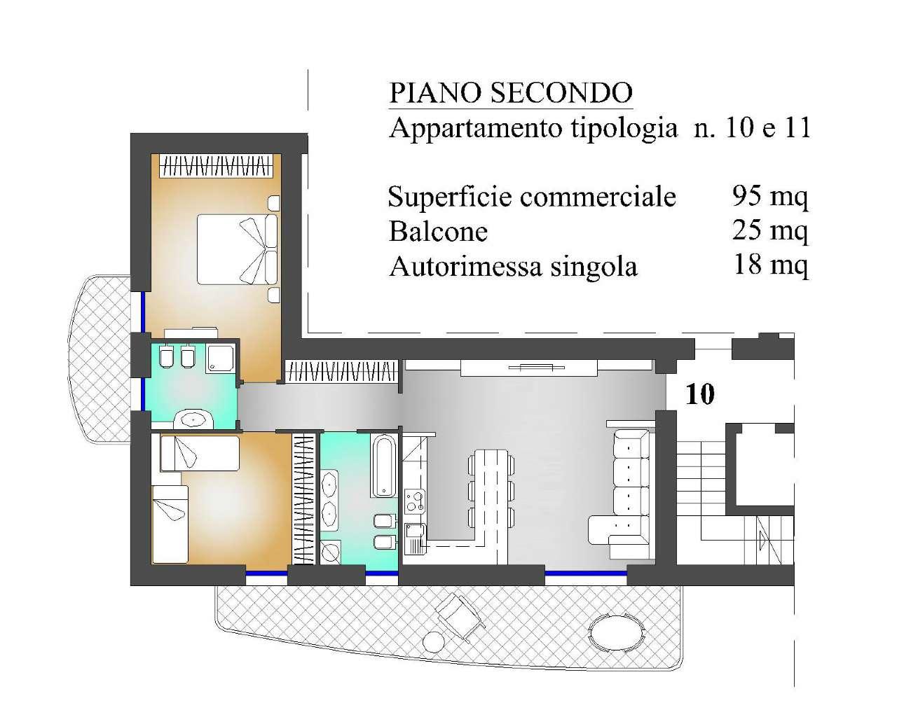 Appartamento in vendita a Almenno San Salvatore, 3 locali, prezzo € 213.000 | PortaleAgenzieImmobiliari.it