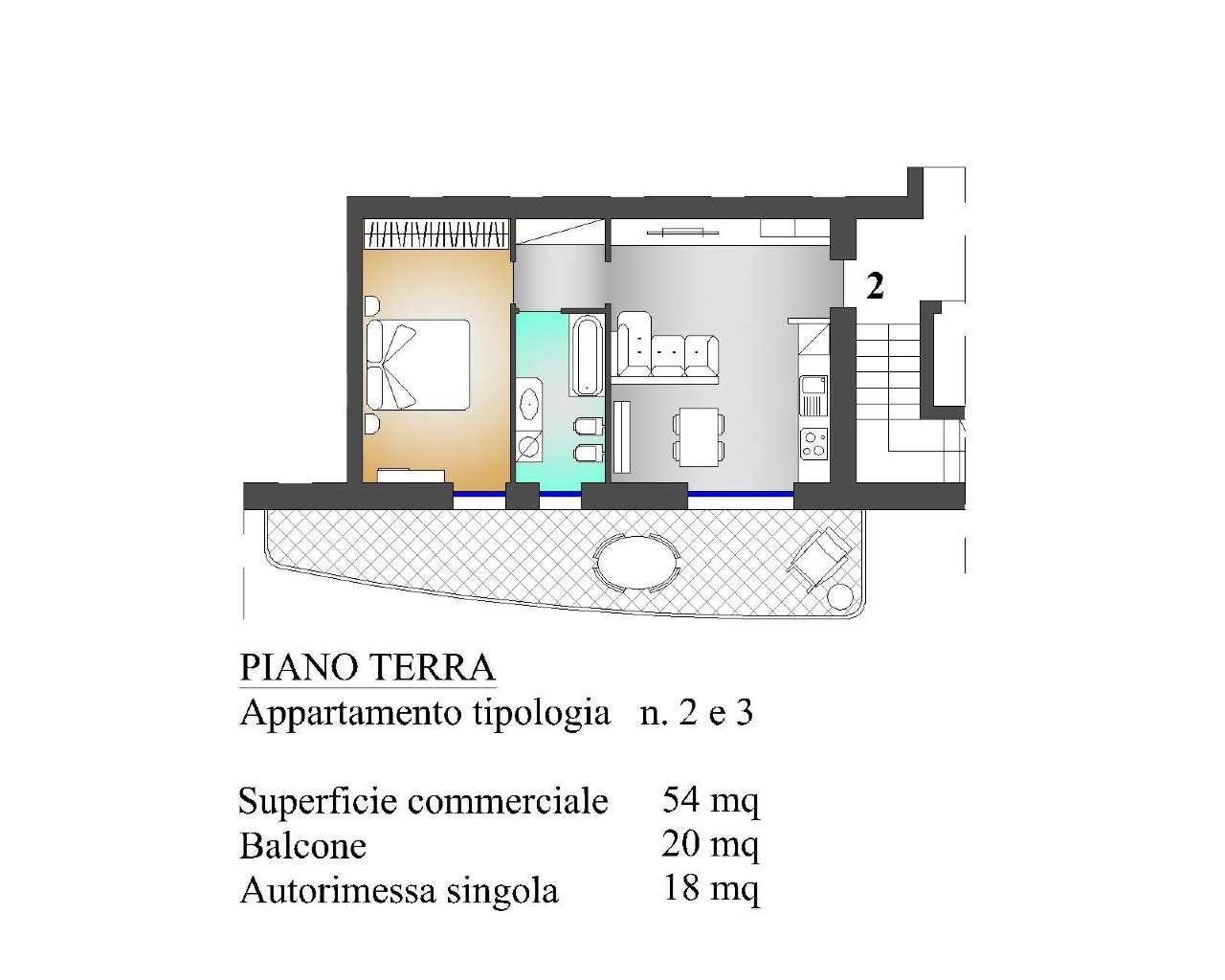 Appartamento in vendita a Almè, 2 locali, prezzo € 137.000   PortaleAgenzieImmobiliari.it