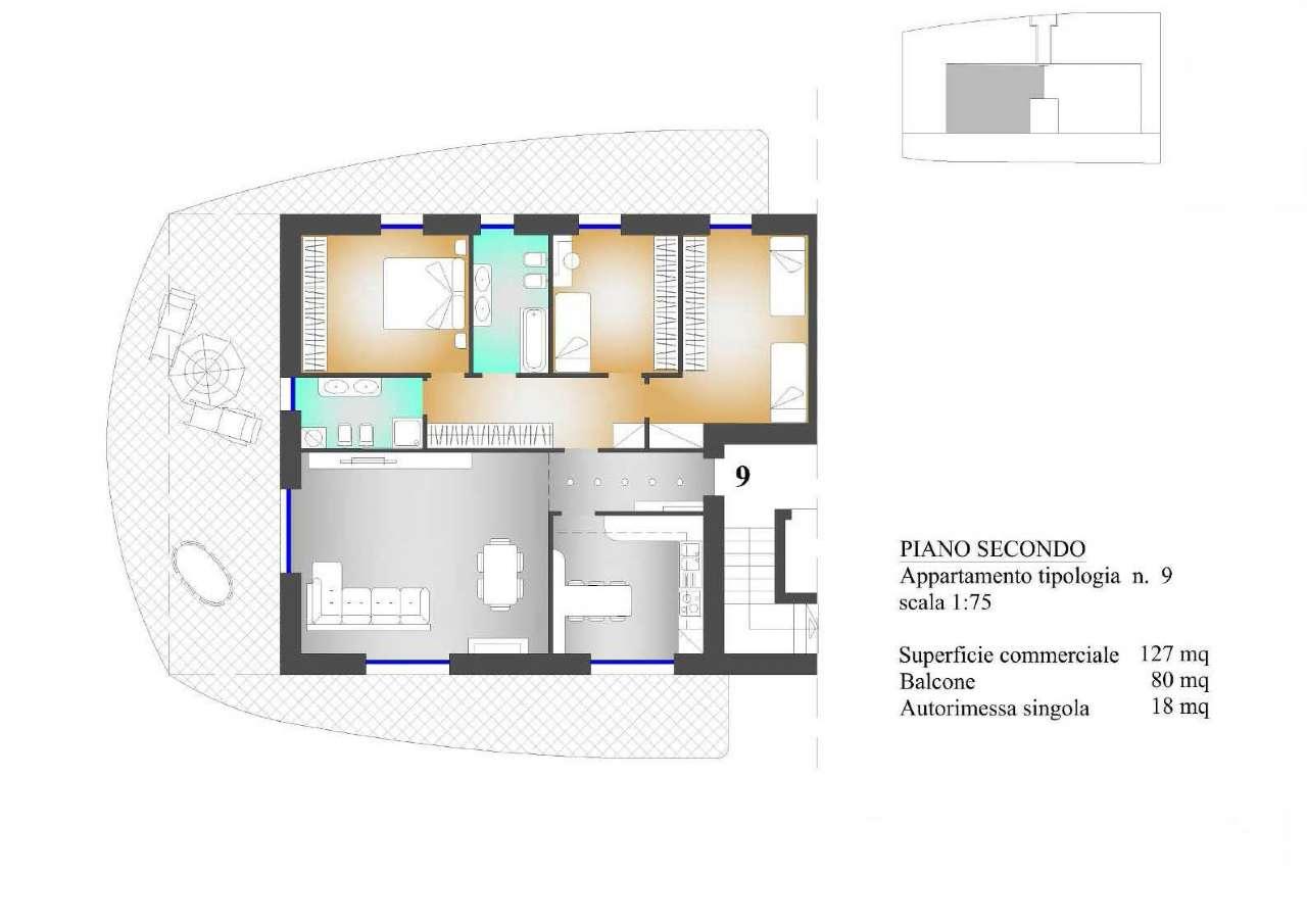 Appartamento in vendita a Almenno San Salvatore, 4 locali, prezzo € 289.000 | PortaleAgenzieImmobiliari.it