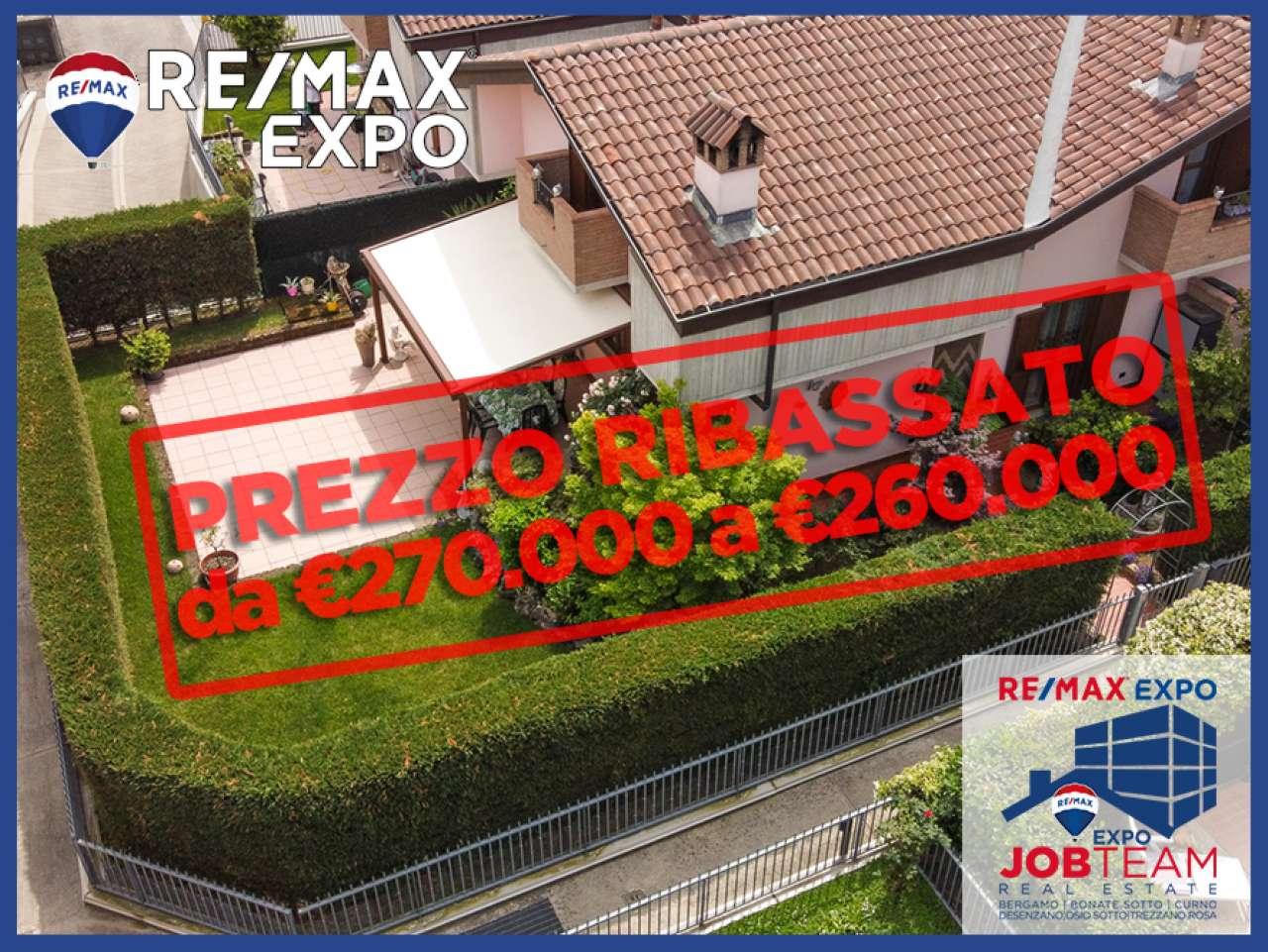 Villa Bifamiliare in Vendita a Bonate Sopra