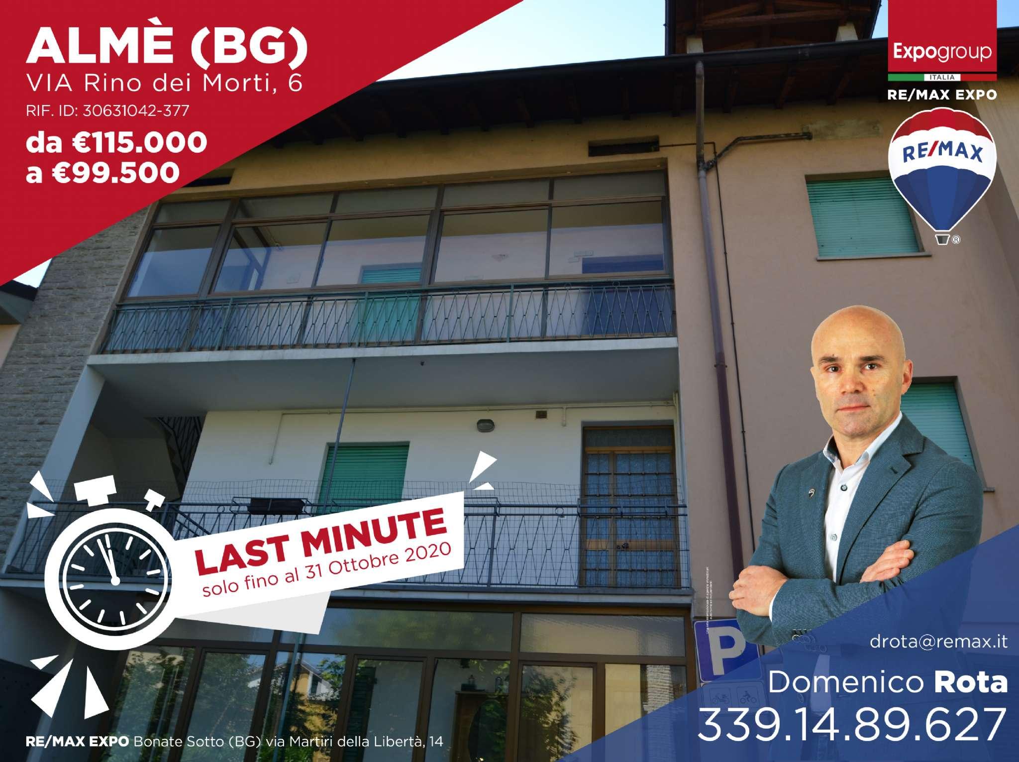 Appartamento in vendita a Almè, 4 locali, prezzo € 99.500   PortaleAgenzieImmobiliari.it