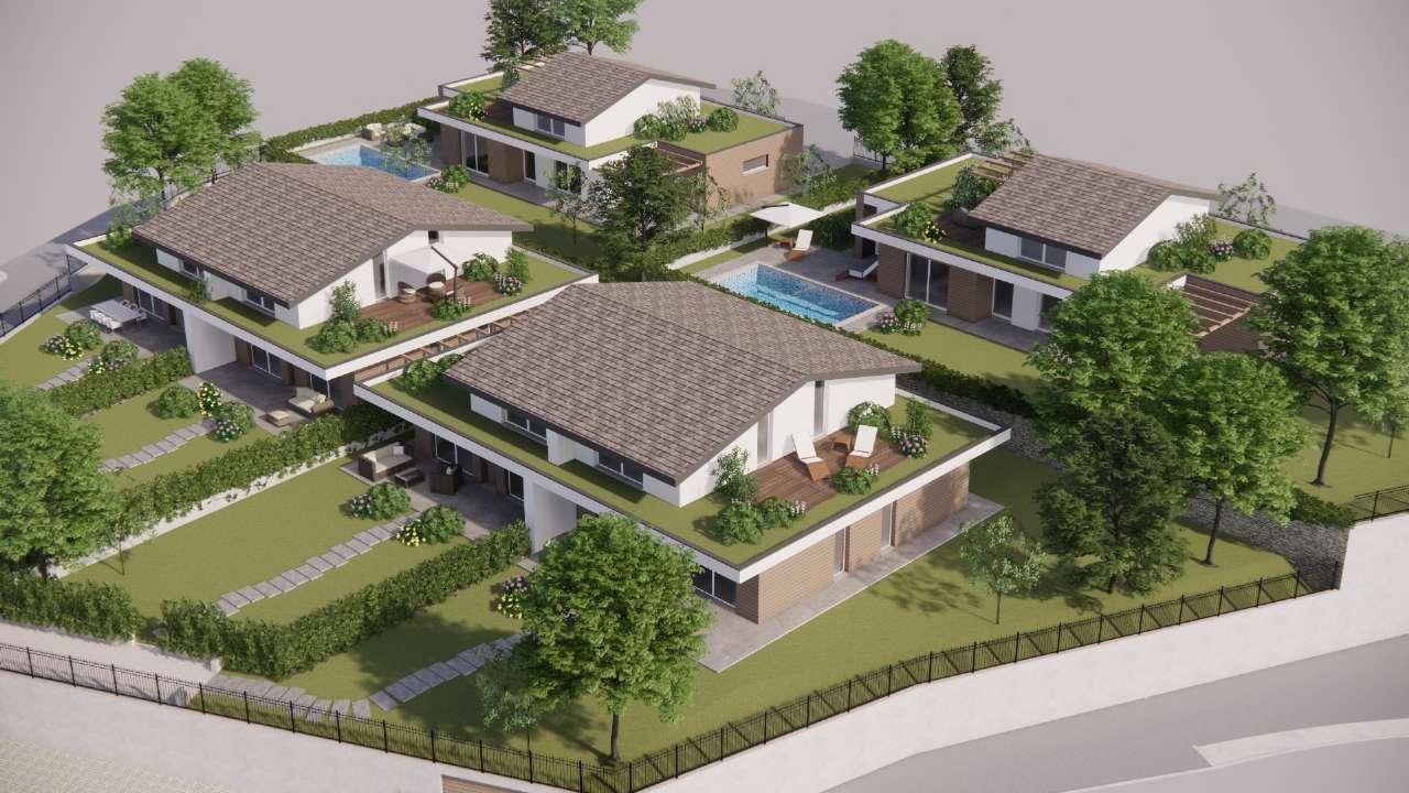 Villa Bifamiliare in vendita a Carvico, 4 locali, prezzo € 345.000 | PortaleAgenzieImmobiliari.it