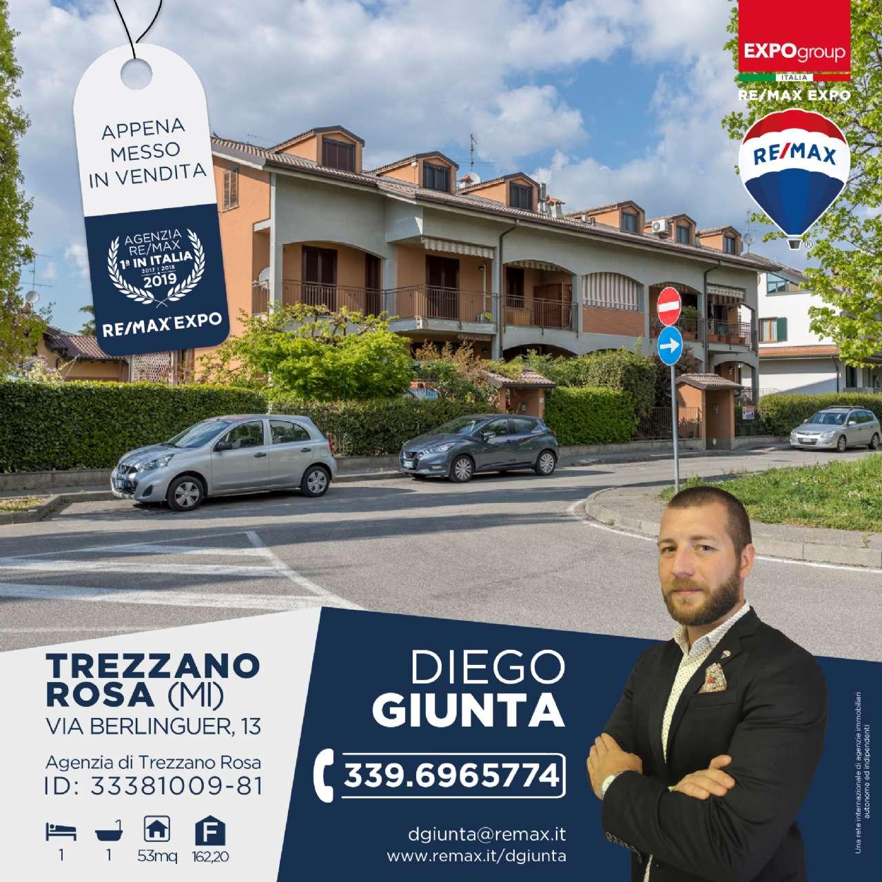 Appartamento in vendita a Trezzano Rosa, 2 locali, prezzo € 65.000 | CambioCasa.it