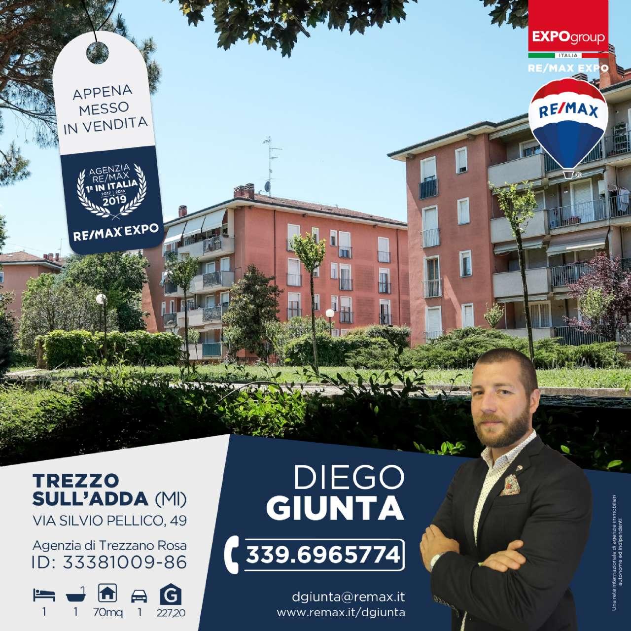 Appartamento in Vendita a Trezzo sull'Adda