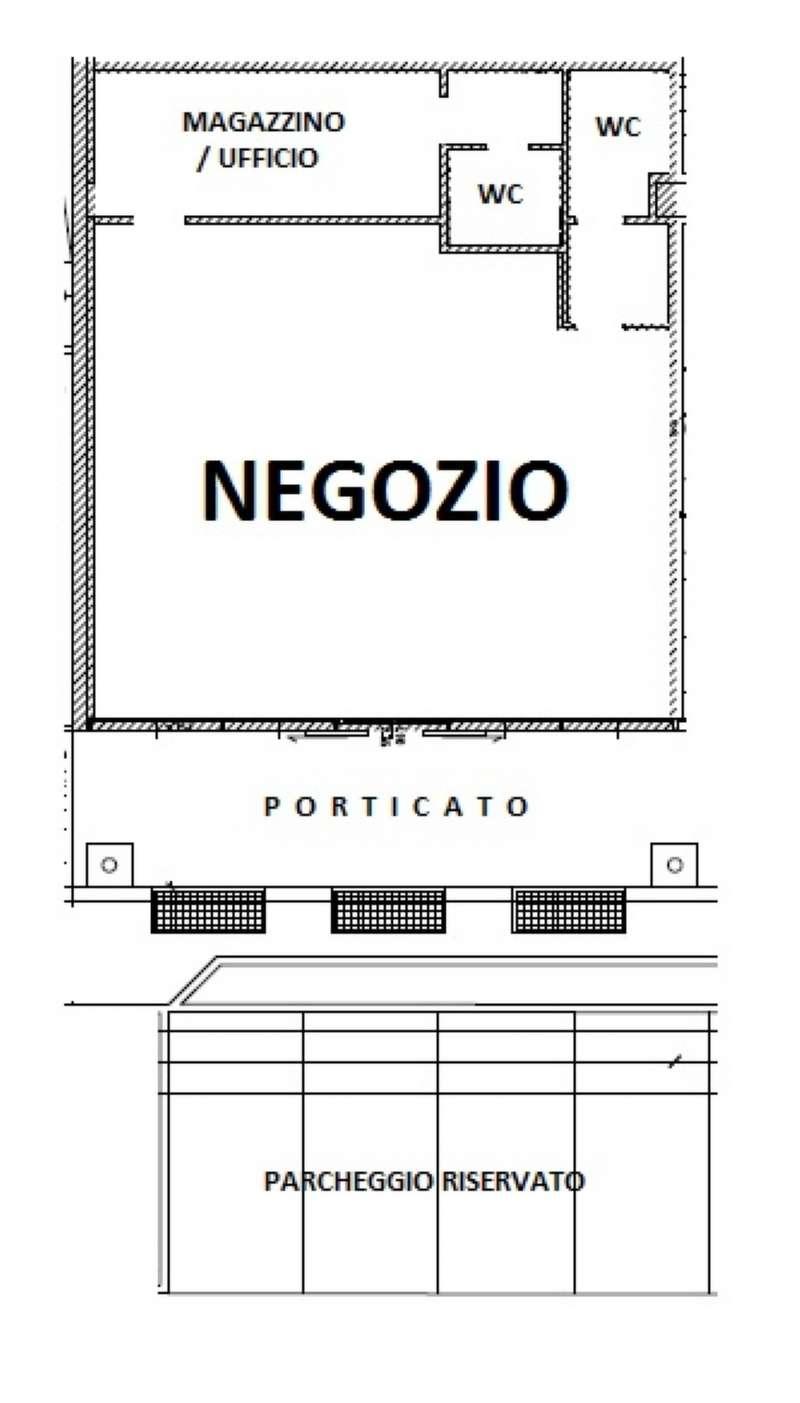 Negozio / Locale in affitto a Boltiere, 1 locali, prezzo € 1.150 | PortaleAgenzieImmobiliari.it