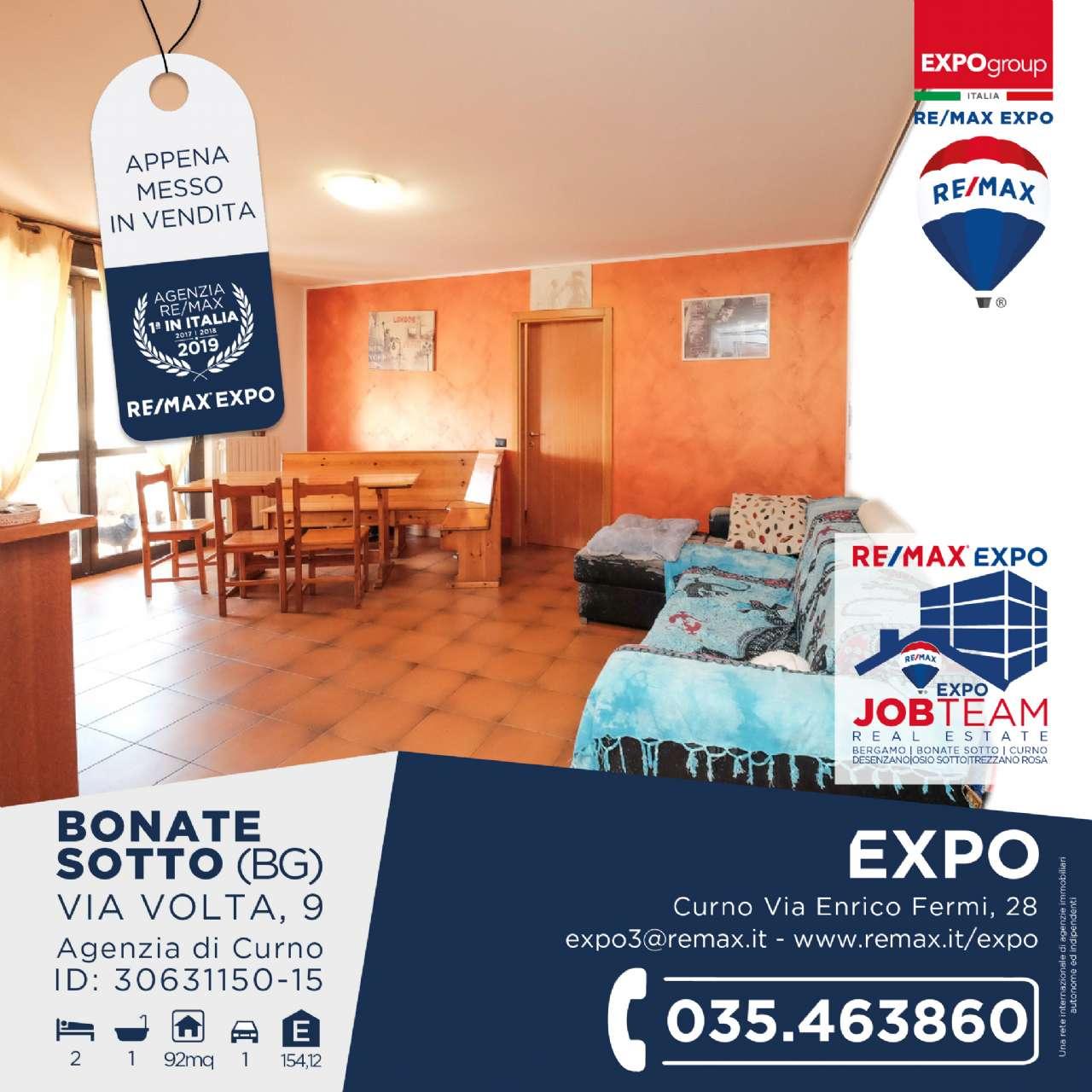Appartamento in vendita a Bonate Sotto, 3 locali, prezzo € 123.000 | PortaleAgenzieImmobiliari.it
