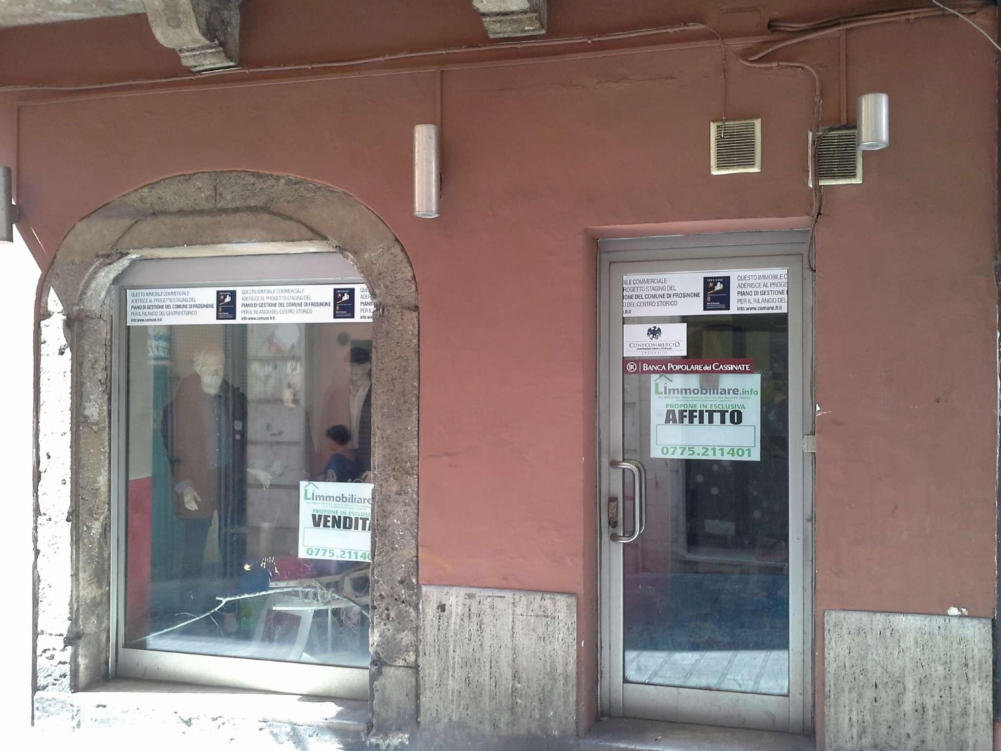 Negozio / Locale in affitto a Frosinone, 9999 locali, prezzo € 250   CambioCasa.it