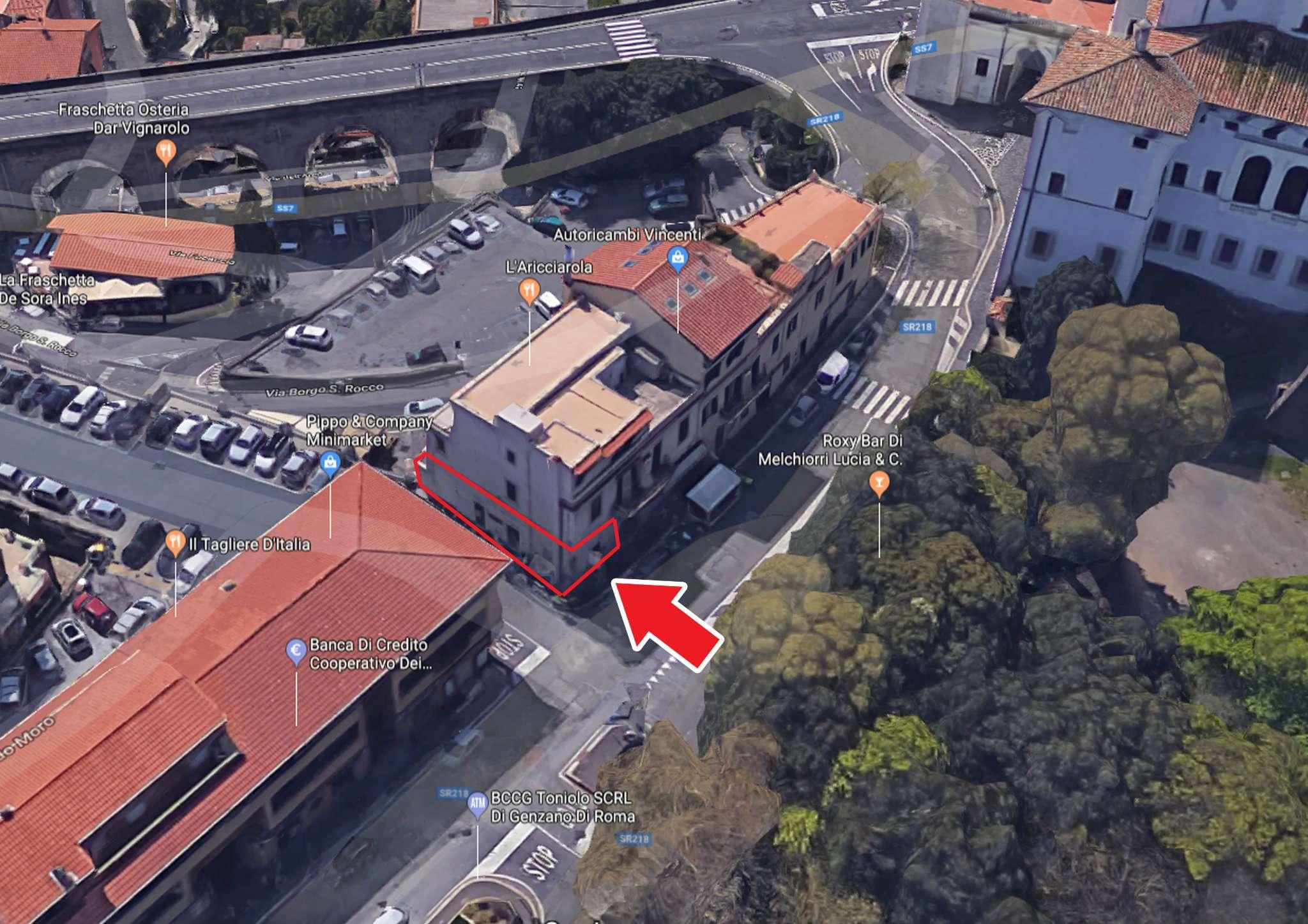 Aricci, centro storico, trilocale