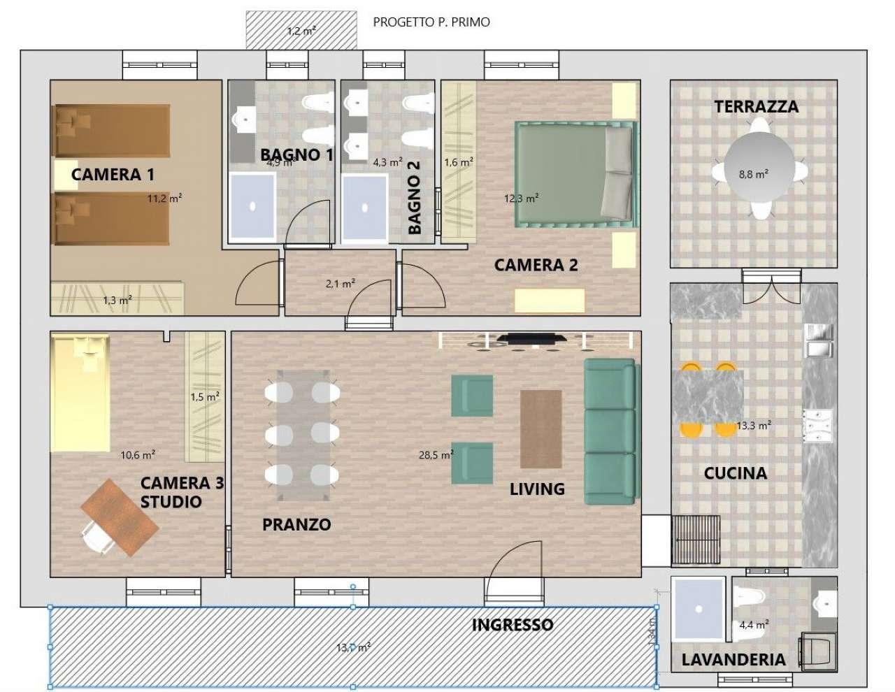 Appartamento in vendita a Sona, 5 locali, prezzo € 160.000 | PortaleAgenzieImmobiliari.it