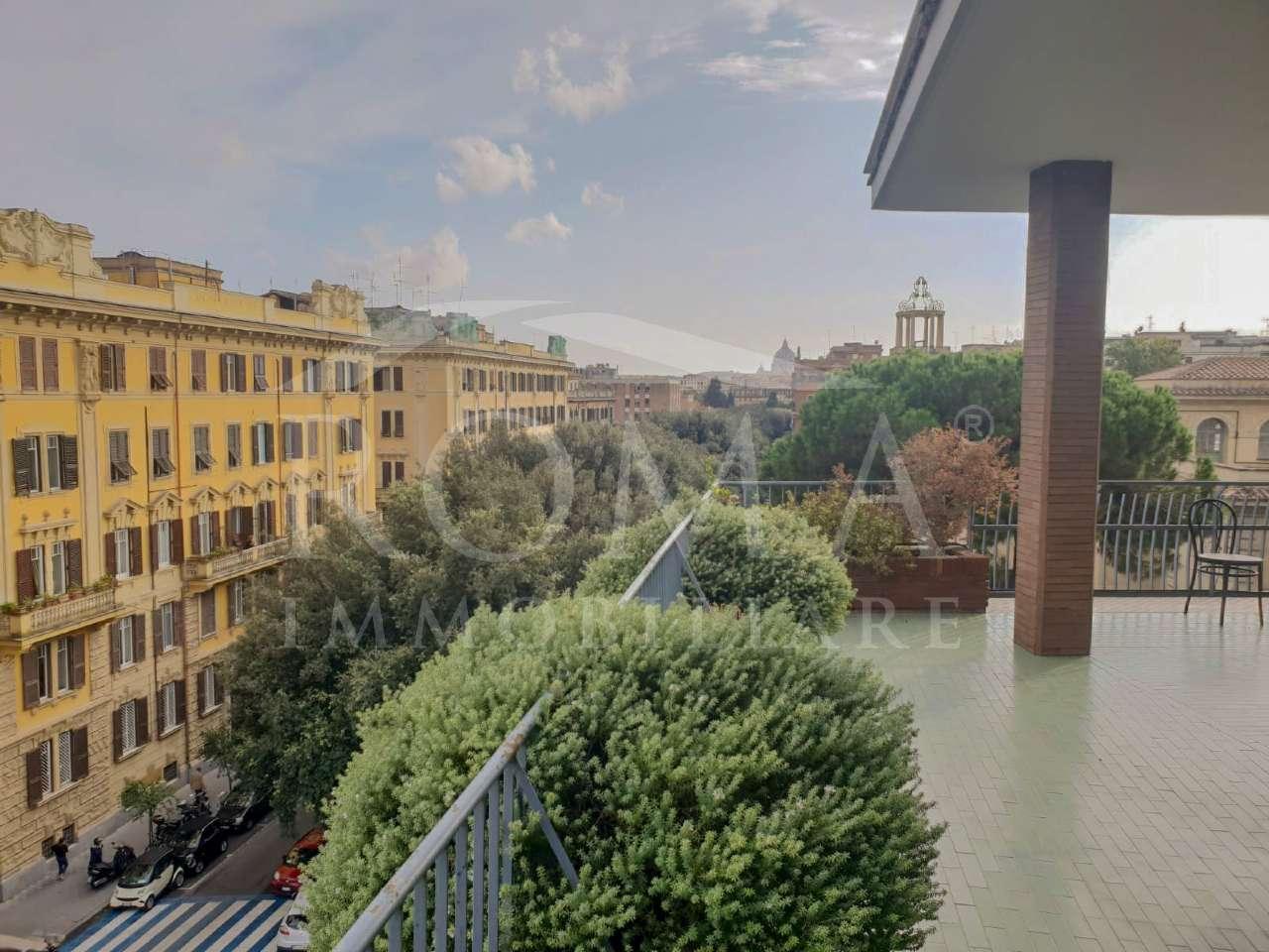 Attici e mansarde in affitto a roma for Affitto roma prati