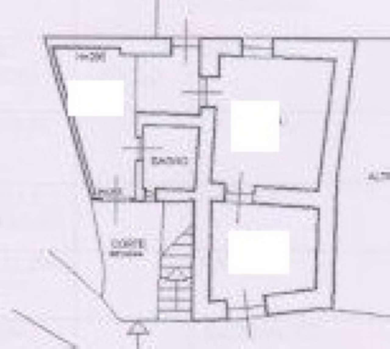 Porzione di casa da ristrutturare in vendita Rif. 8232342