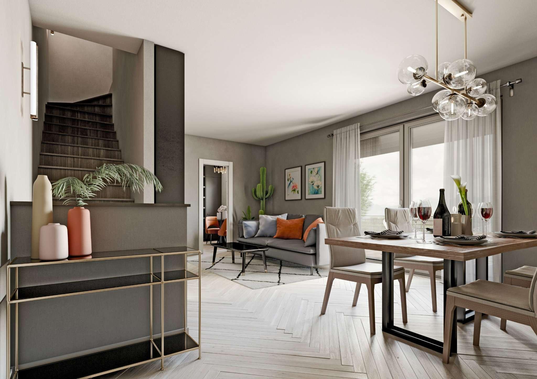 Appartamento in vendita a Mezzago, 3 locali, prezzo € 195.000 | CambioCasa.it