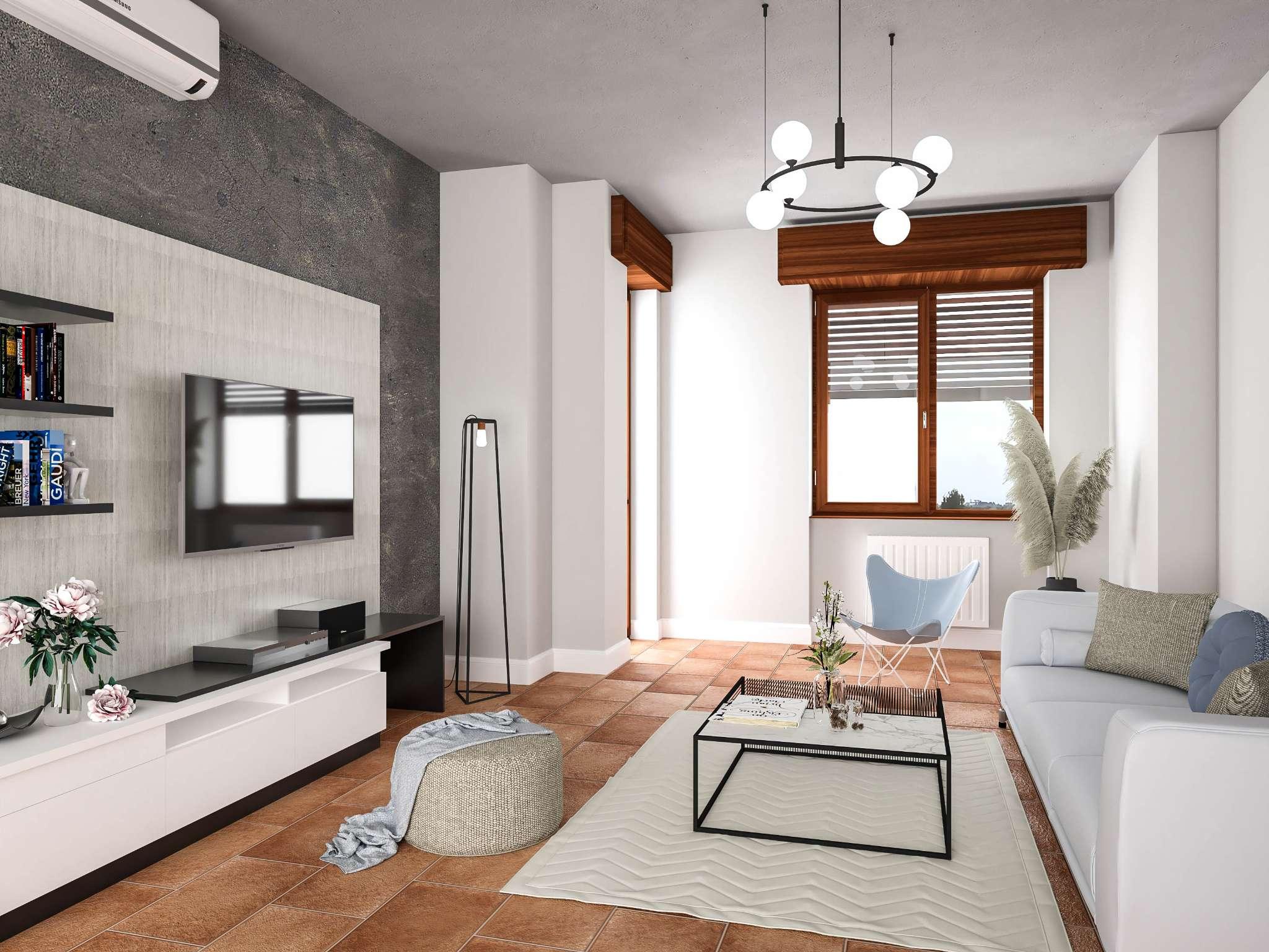 Appartamento in vendita a Trezzo sull'Adda, 3 locali, prezzo € 80.000 | PortaleAgenzieImmobiliari.it