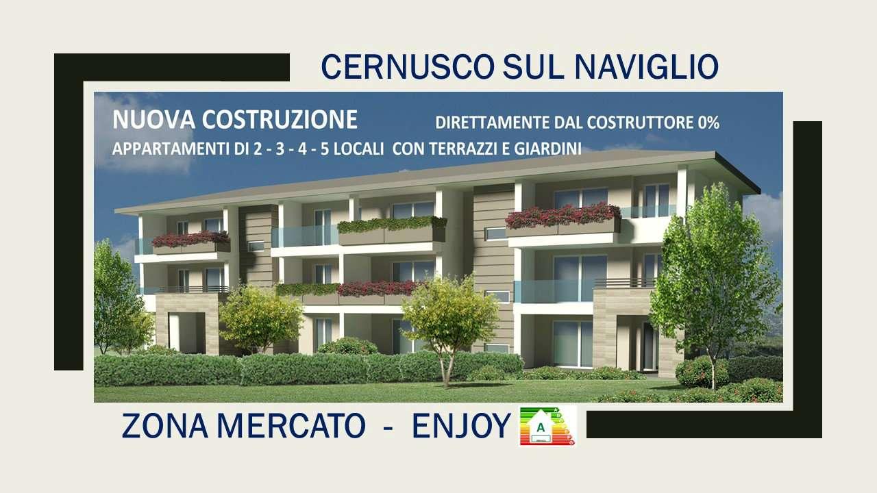 Appartamento in vendita a Cernusco sul Naviglio, 4 locali, prezzo € 427.789 | CambioCasa.it