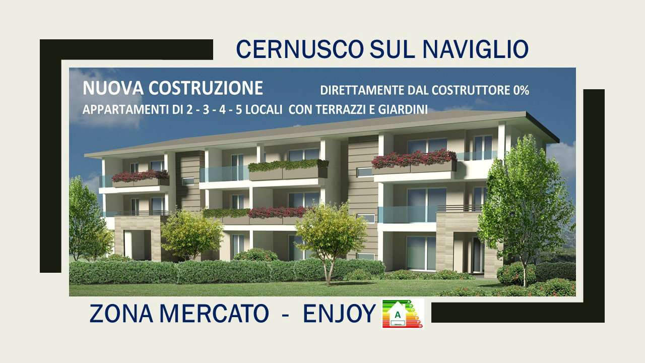 Appartamento in vendita a Cernusco sul Naviglio, 4 locali, prezzo € 449.337 | CambioCasa.it