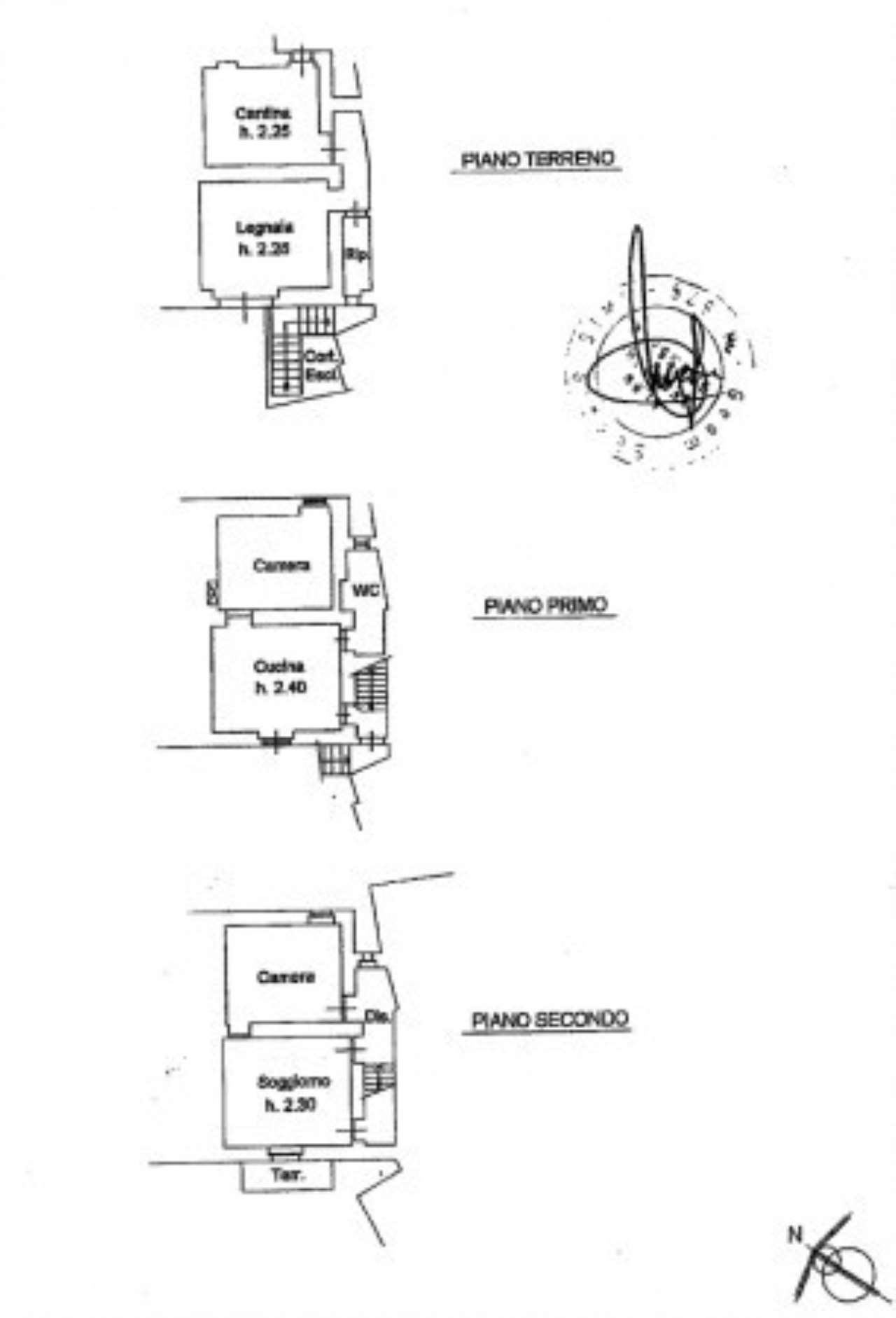 4 vani indipendenti a Salaiola (Arcidosso)