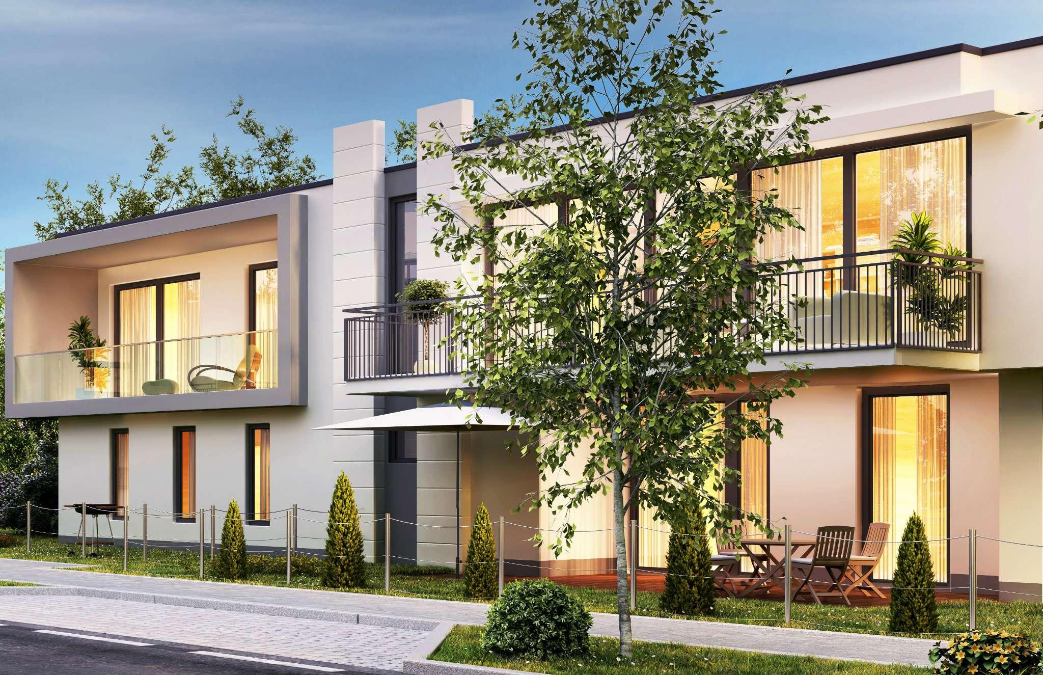 maisonette di nuova costruzione con ingresso indipendente e giardino di proprietà