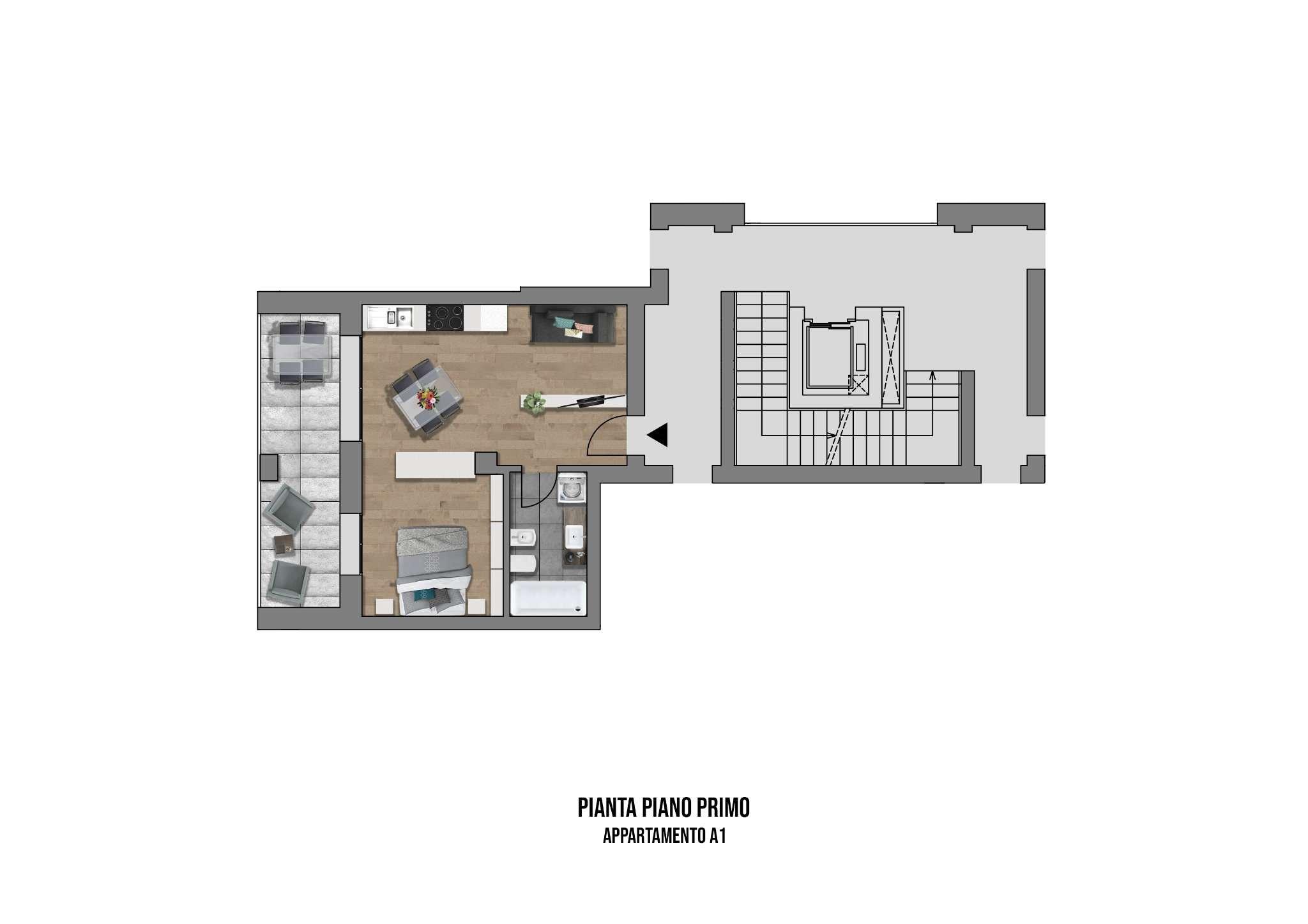 Appartamento in vendita a Casalecchio di Reno, 1 locali, prezzo € 180.000 | PortaleAgenzieImmobiliari.it