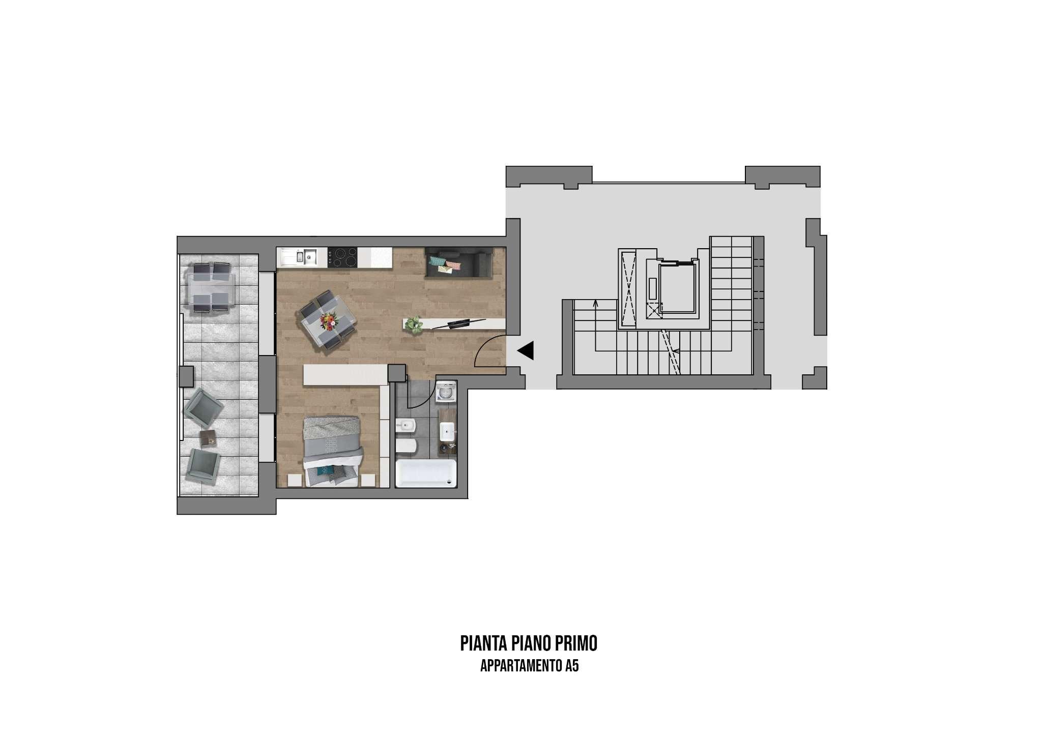 Appartamento in vendita a Casalecchio di Reno, 1 locali, prezzo € 190.000 | PortaleAgenzieImmobiliari.it