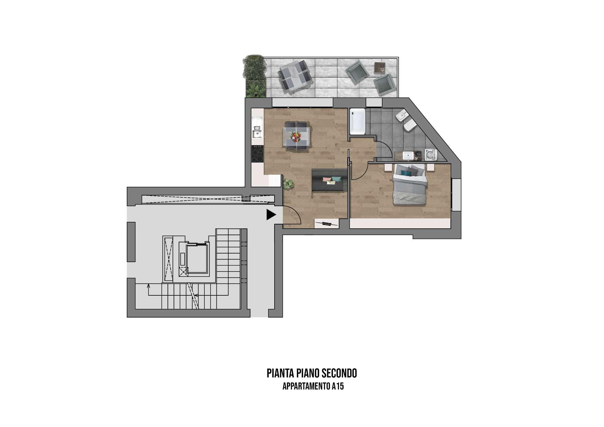 Appartamento in vendita a Casalecchio di Reno, 2 locali, prezzo € 255.000 | PortaleAgenzieImmobiliari.it